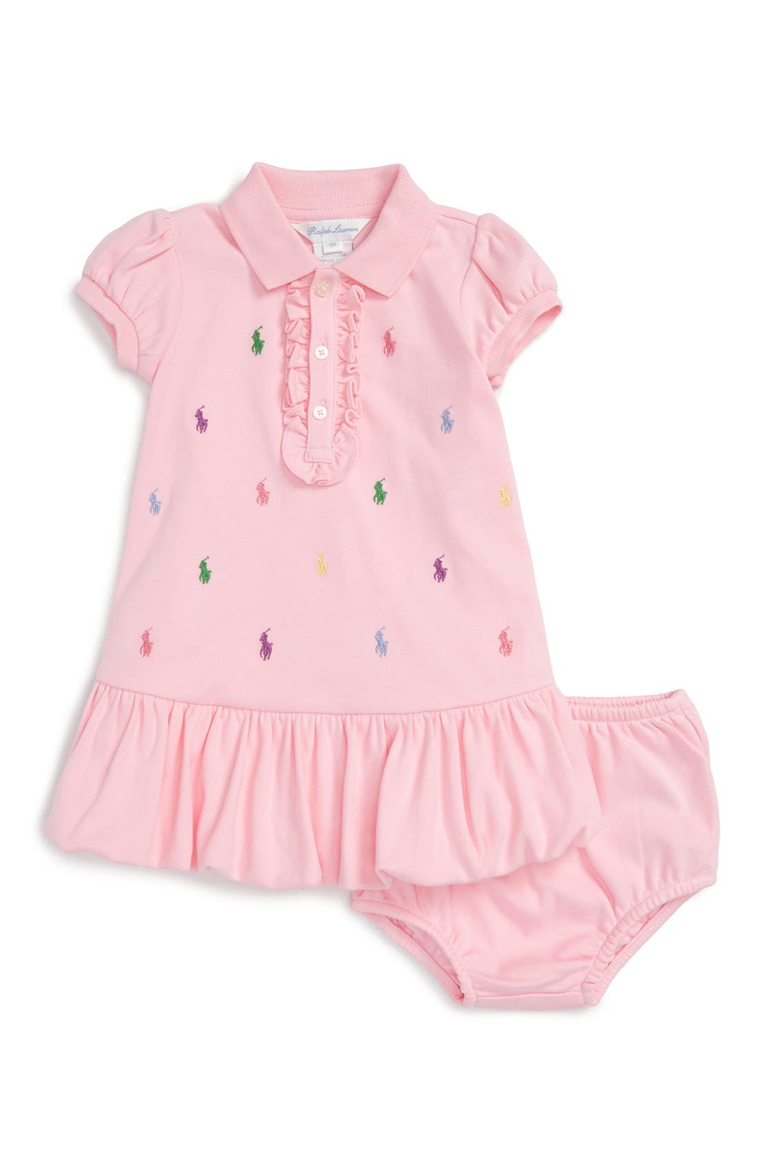 Ralph Lauren Polo Dress (Baby Girls)