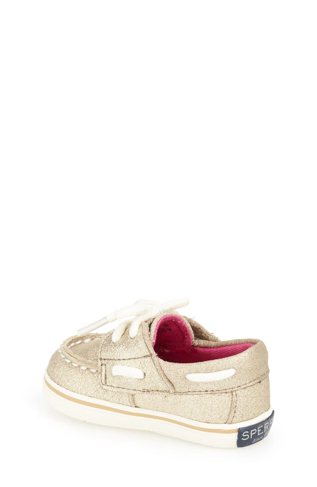 Alternate Image 2  - Sperry Kids 'Bahama' Crib Shoe (Baby)