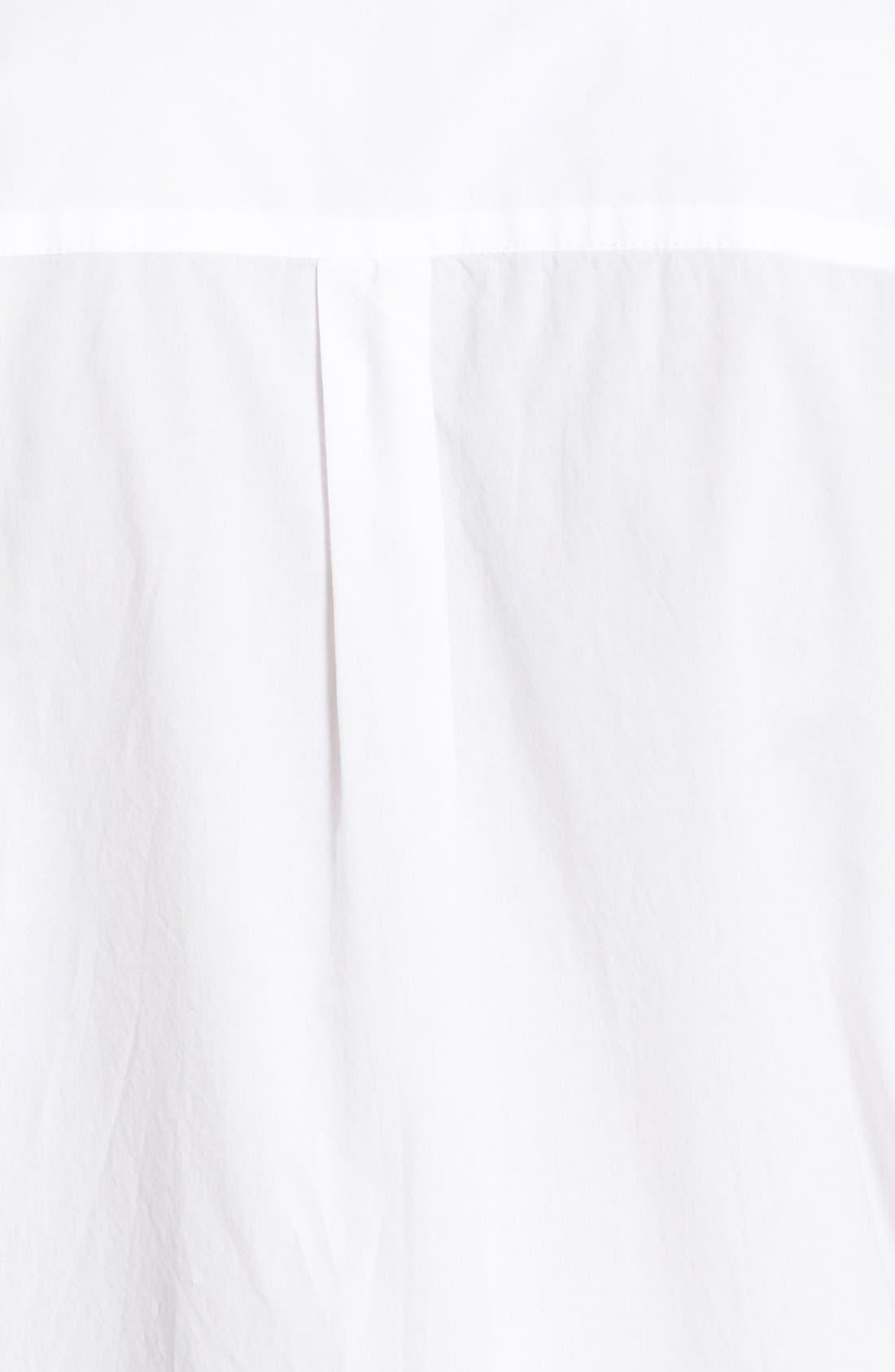 Alternate Image 5  - FRAME 'Le Poplin' Cotton Shirtdress (Nordstrom Exclusive)