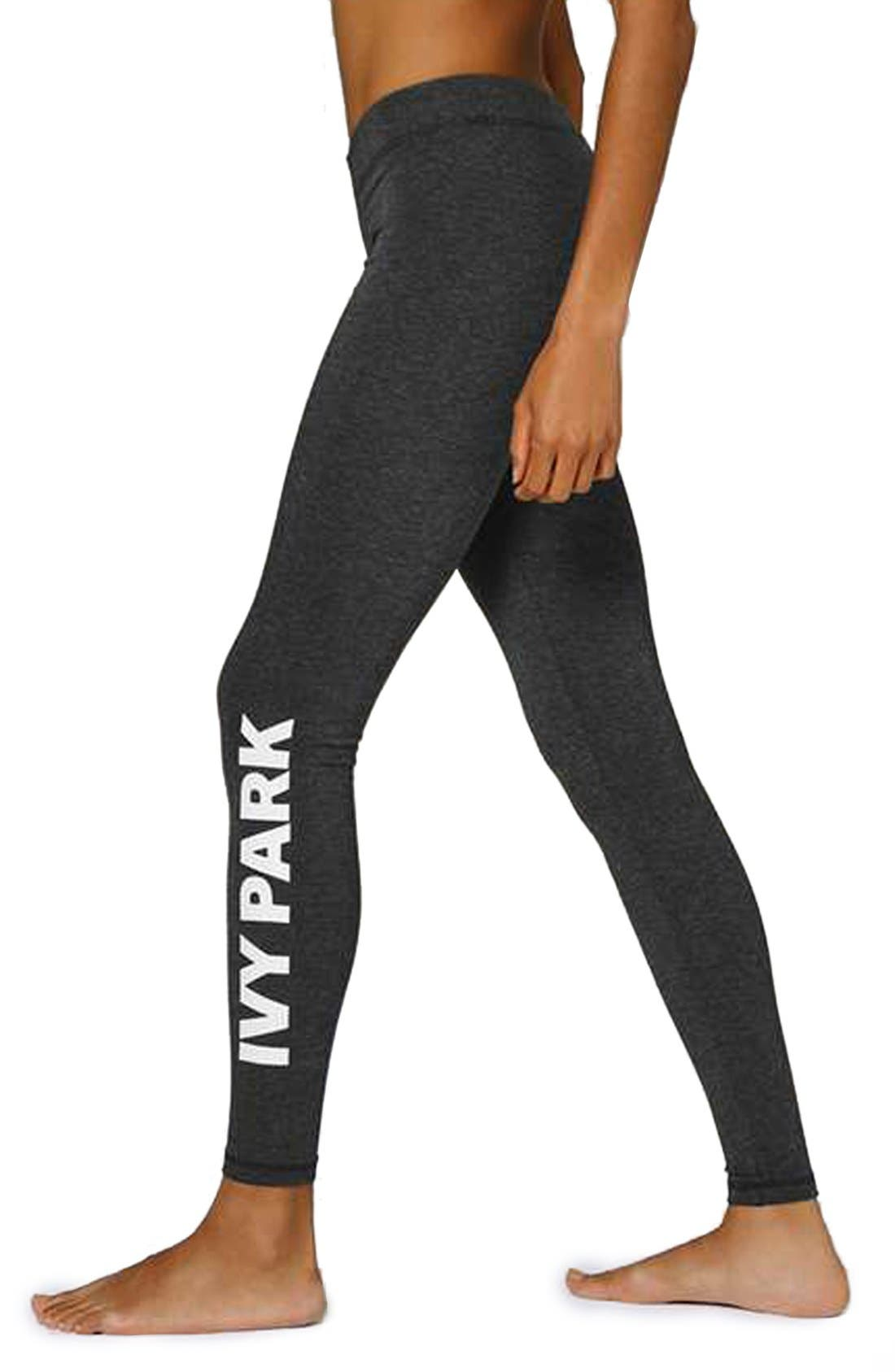 Alternate Image 1 Selected - IVY PARK® Logo Ankle Leggings
