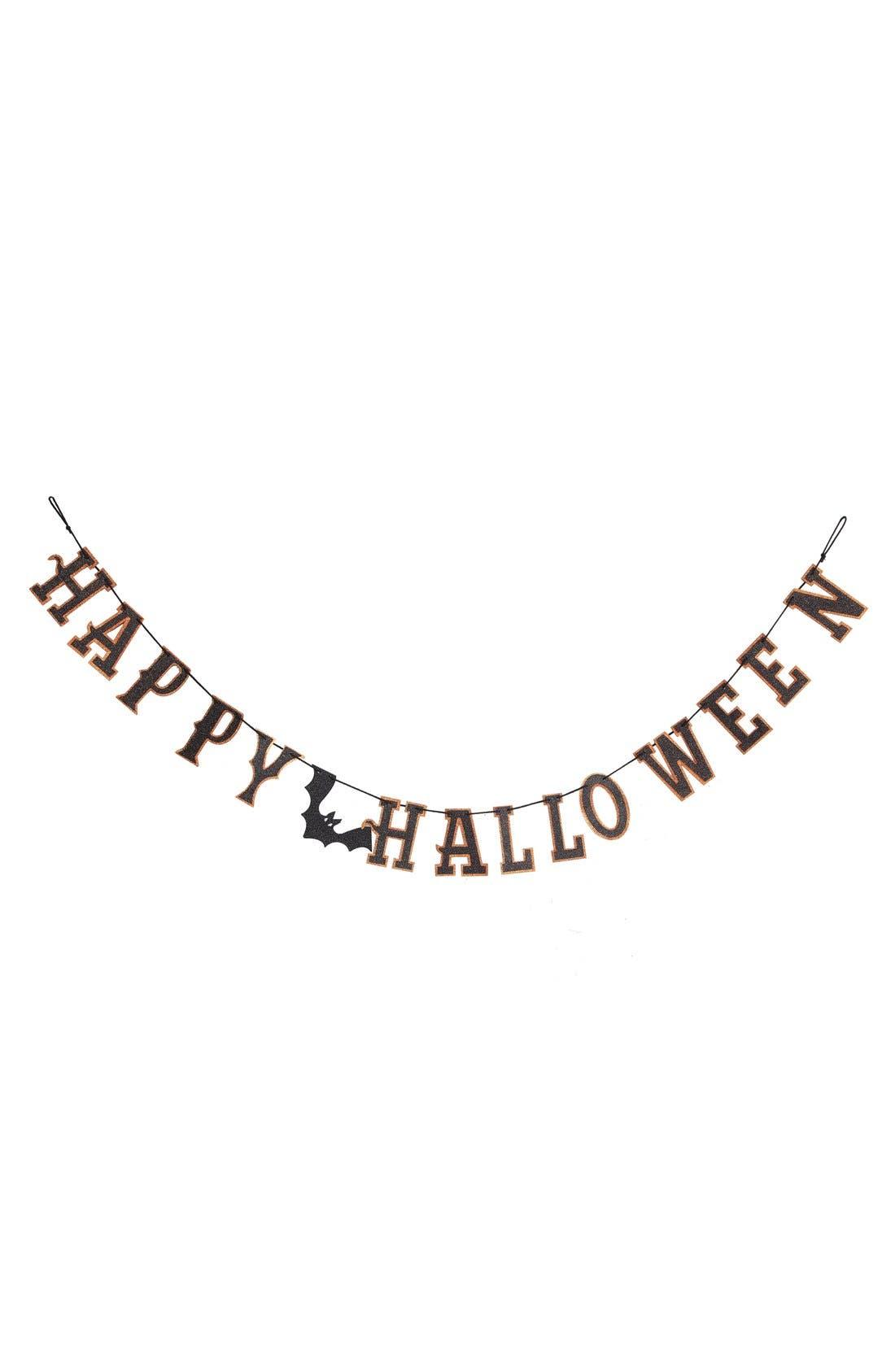 Alternate Image 1 Selected - Creative Co-Op 'Happy Halloween' Paper Garland