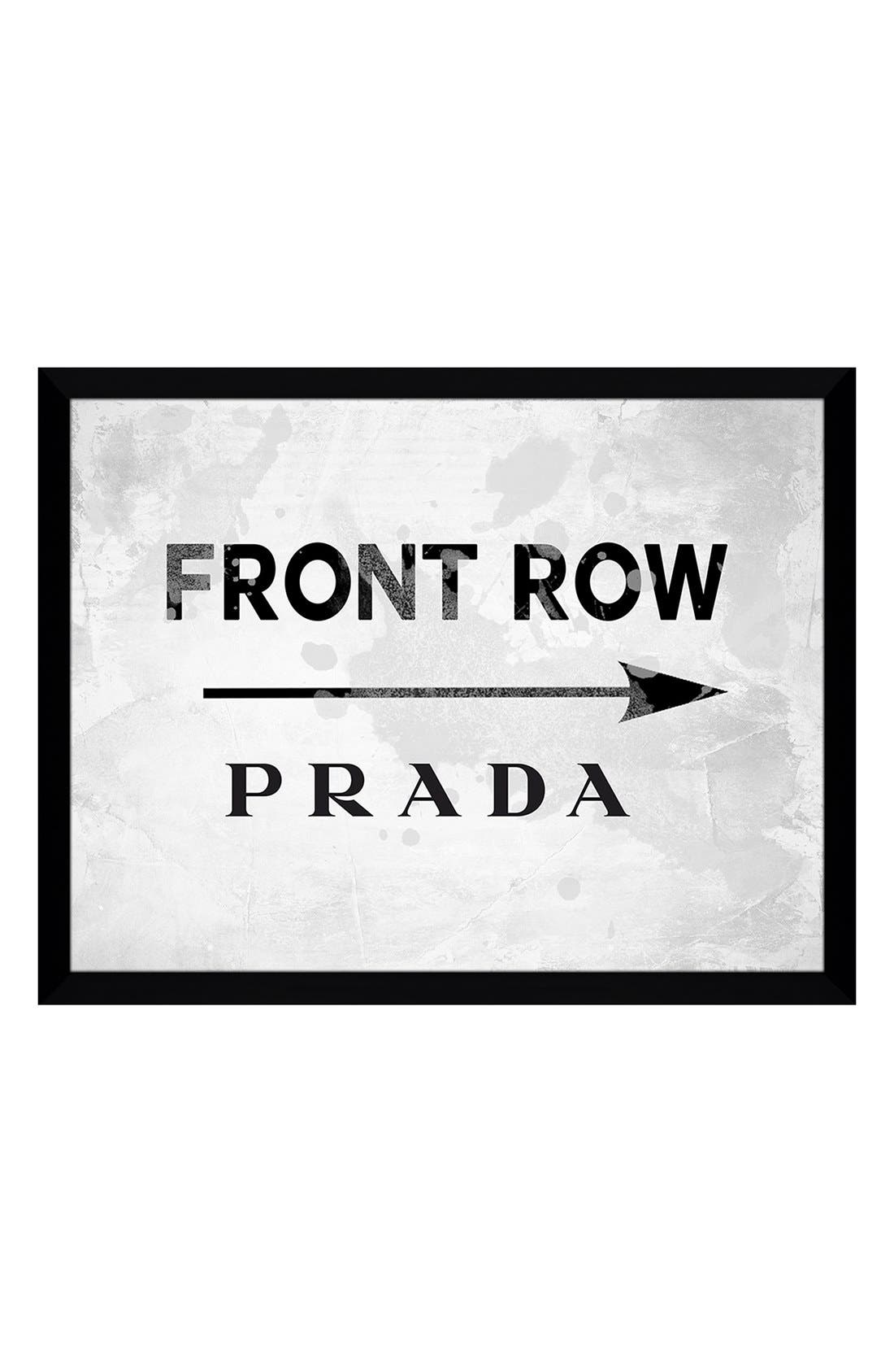 Alternate Image 1 Selected - Picture Perfect 'Front Row Prada' Fine Art Print