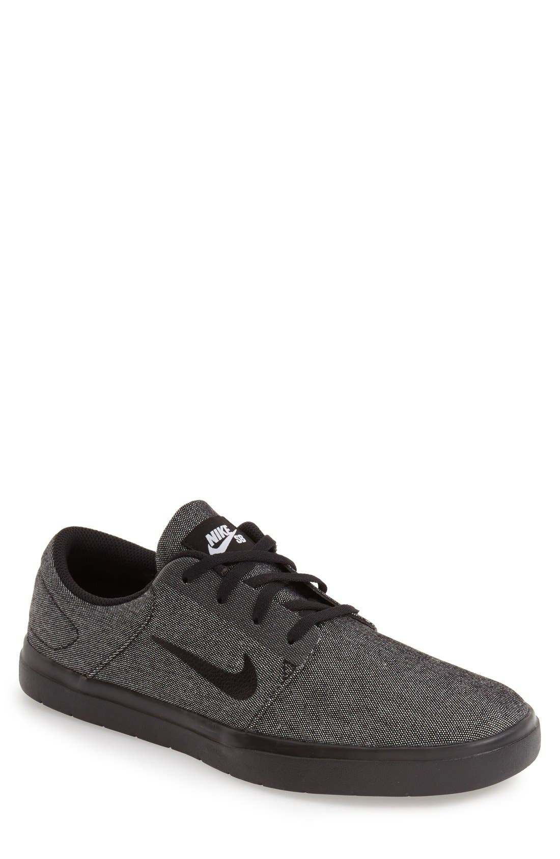 Alternate Image 1 Selected - Nike 'SB Portmore Ultralight' Skate Sneaker (Men)