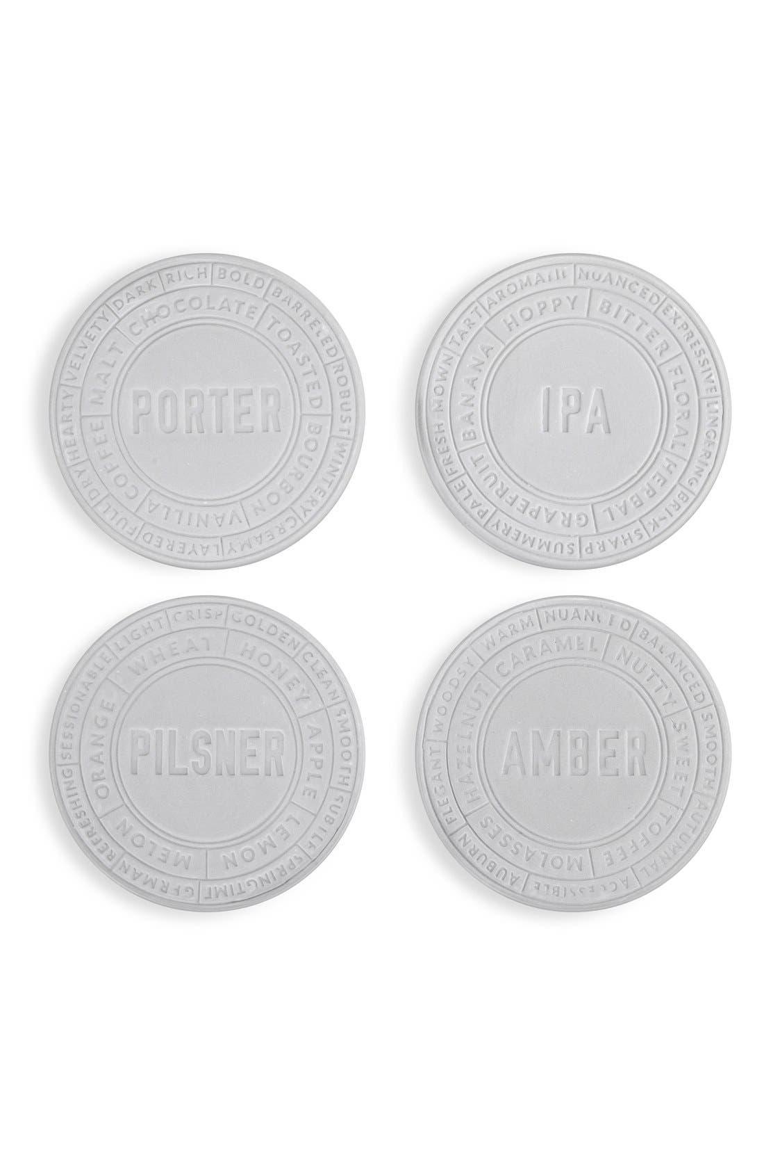 TRUE FABRICATIONS Ceramic Beer Coasters