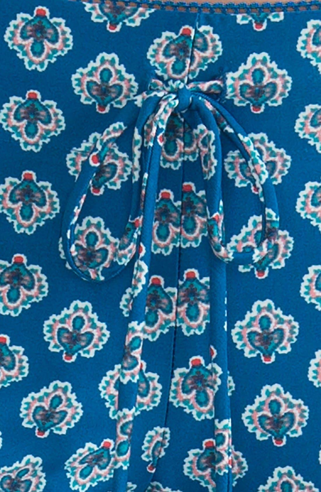 Alternate Image 5  - In Bloom by Jonquil Print Pajama Pants
