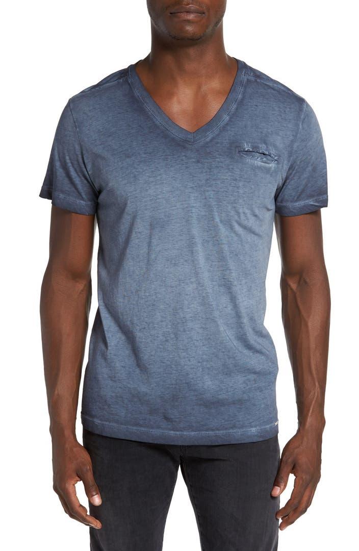 DIESEL® 'Pearls' Pocket V-Neck T-Shirt | Nordstrom