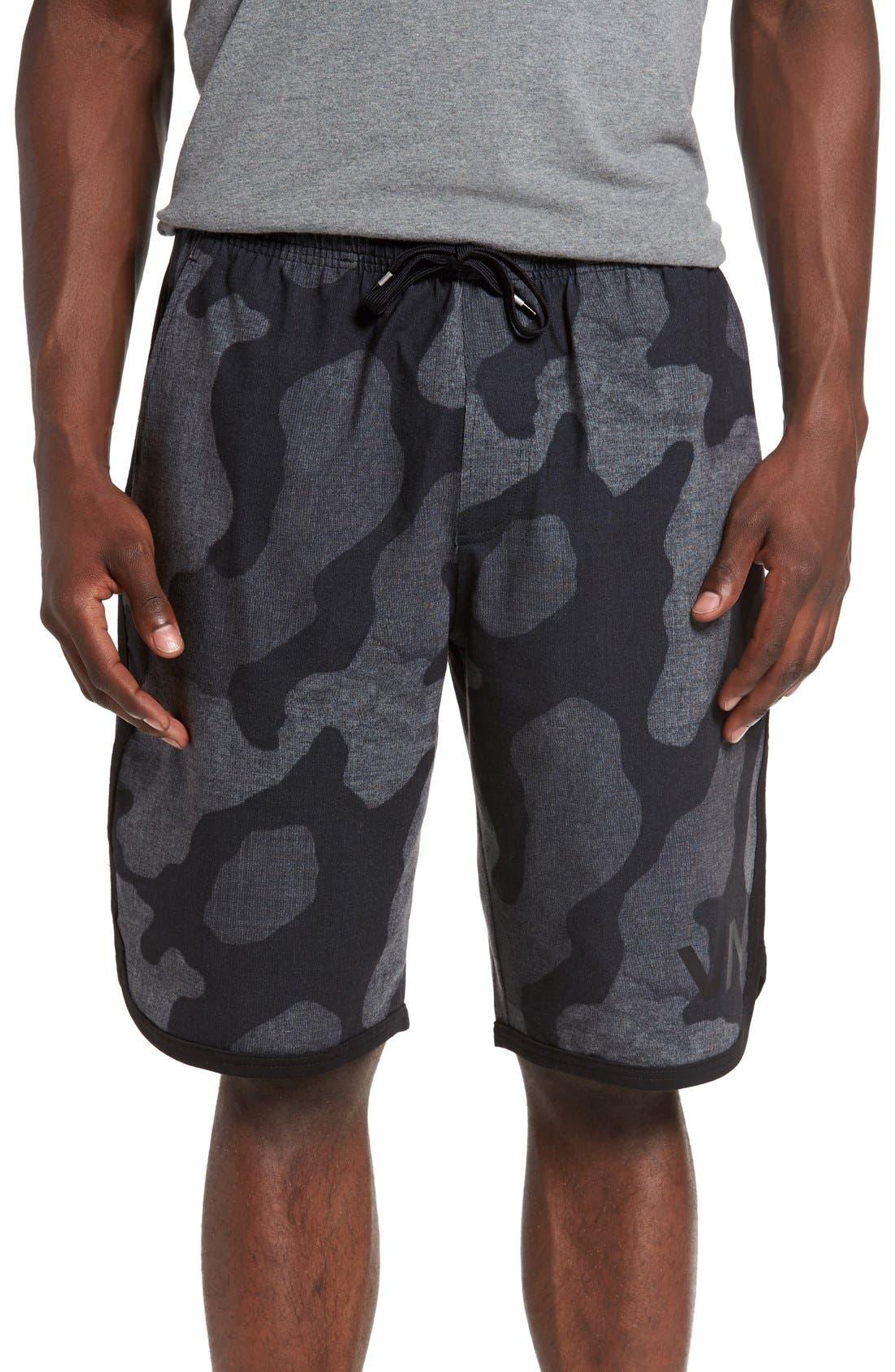 Alternate Image 1 Selected - RVCA 'VA Sport' Athletic Shorts