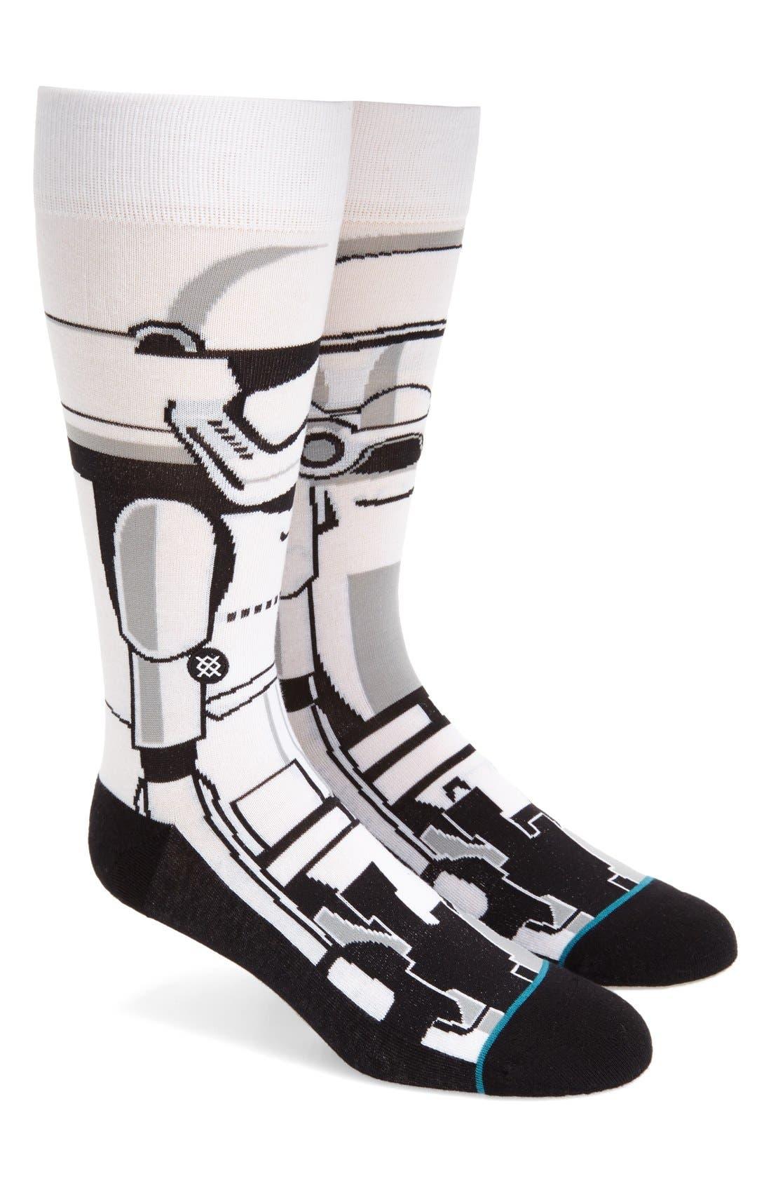 Main Image - Stance 'Star Wars™ - Trooper 2' Socks