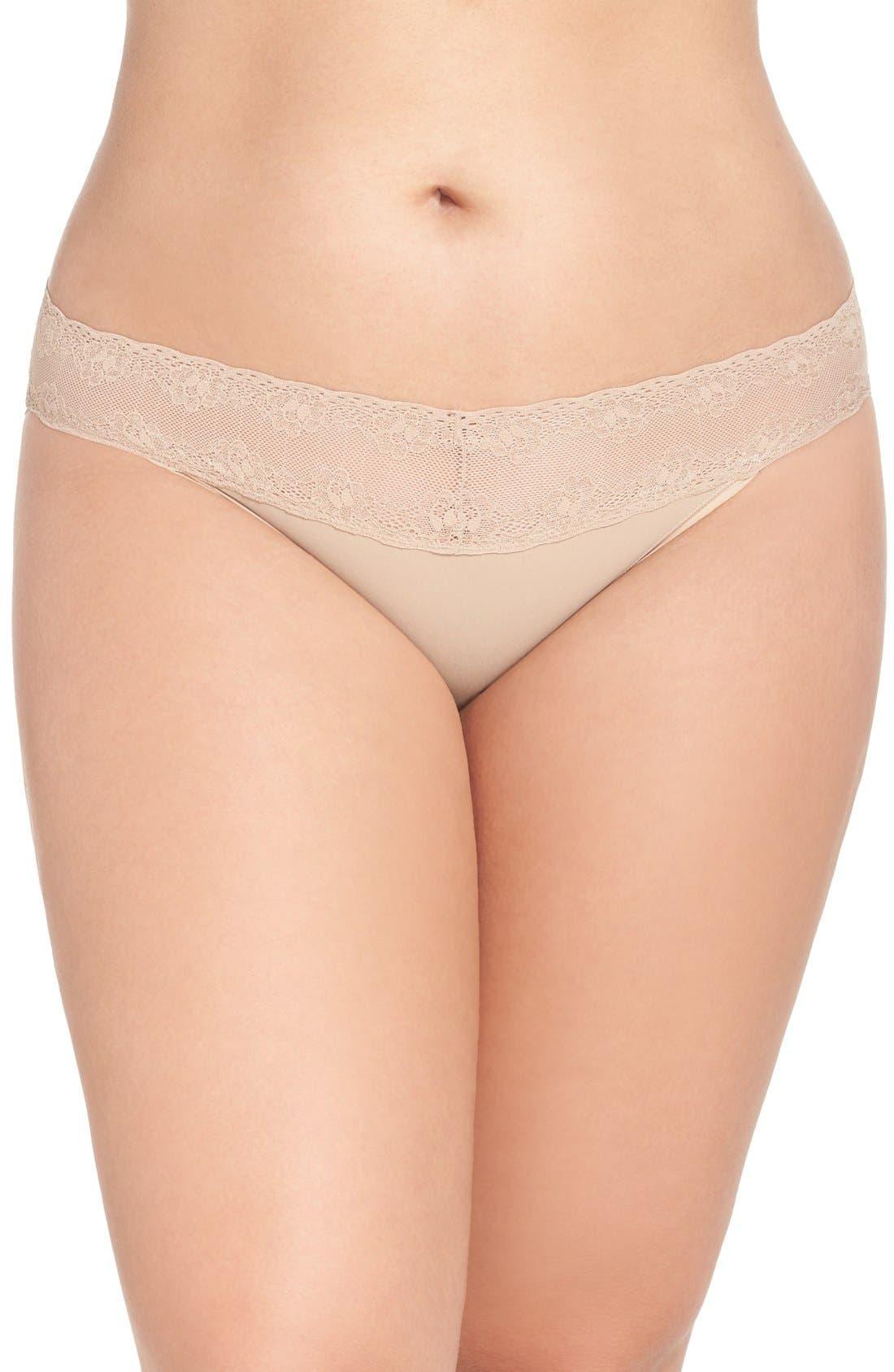 Natori 'Bliss Perfection' Bikini (Plus Size) (2 for $36)