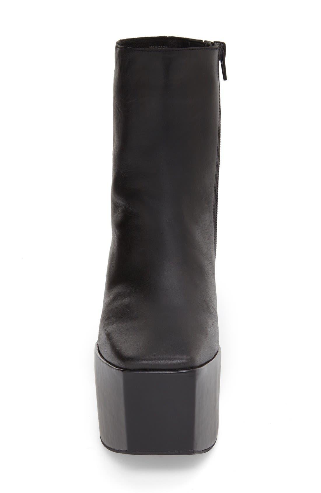 Alternate Image 3  - Jeffrey Campbell 'Marcade' Block Heel Platform Bootie (Women)
