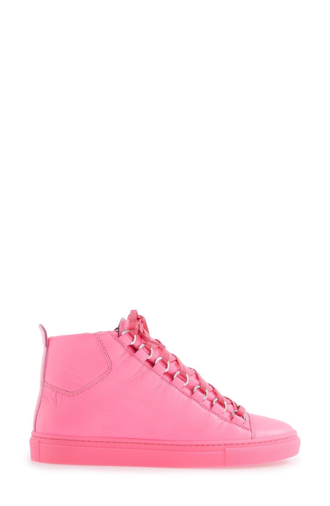 Alternate Image 7  - Balenciaga High Top Sneaker (Women)