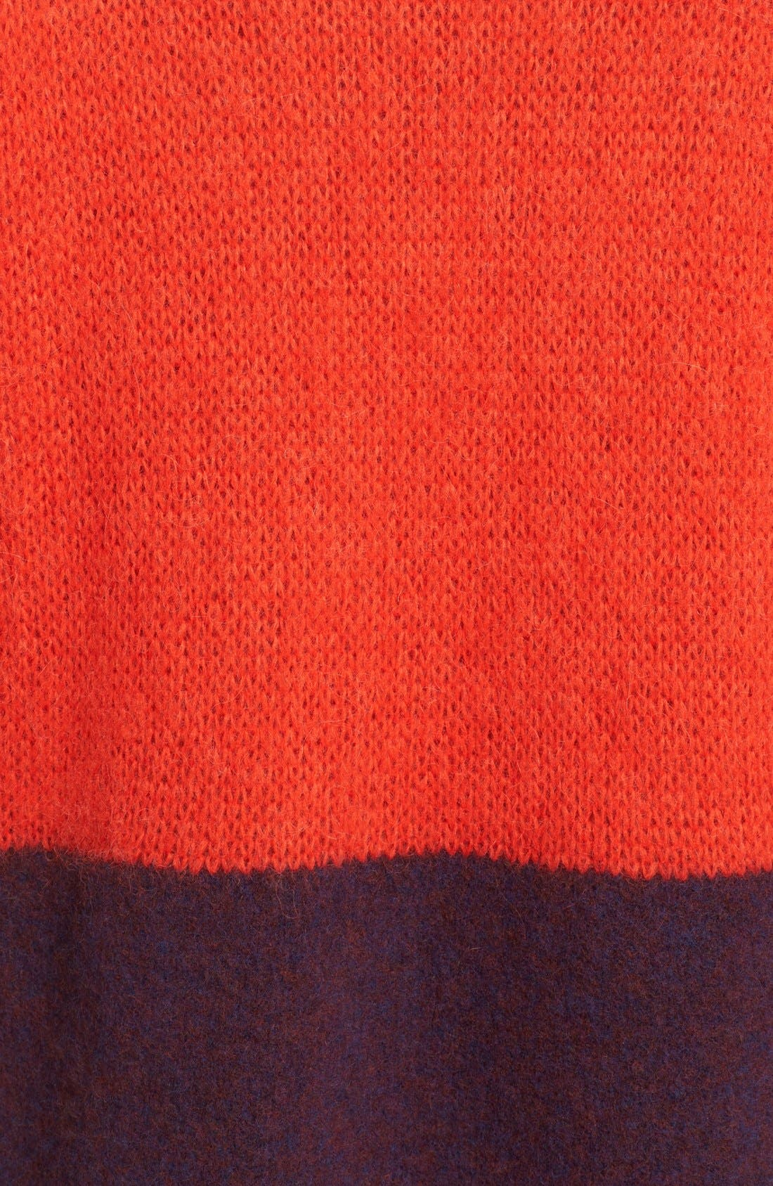 Alternate Image 5  - rag & bone 'Britton' Stripe Wool Blend Sweater Dress