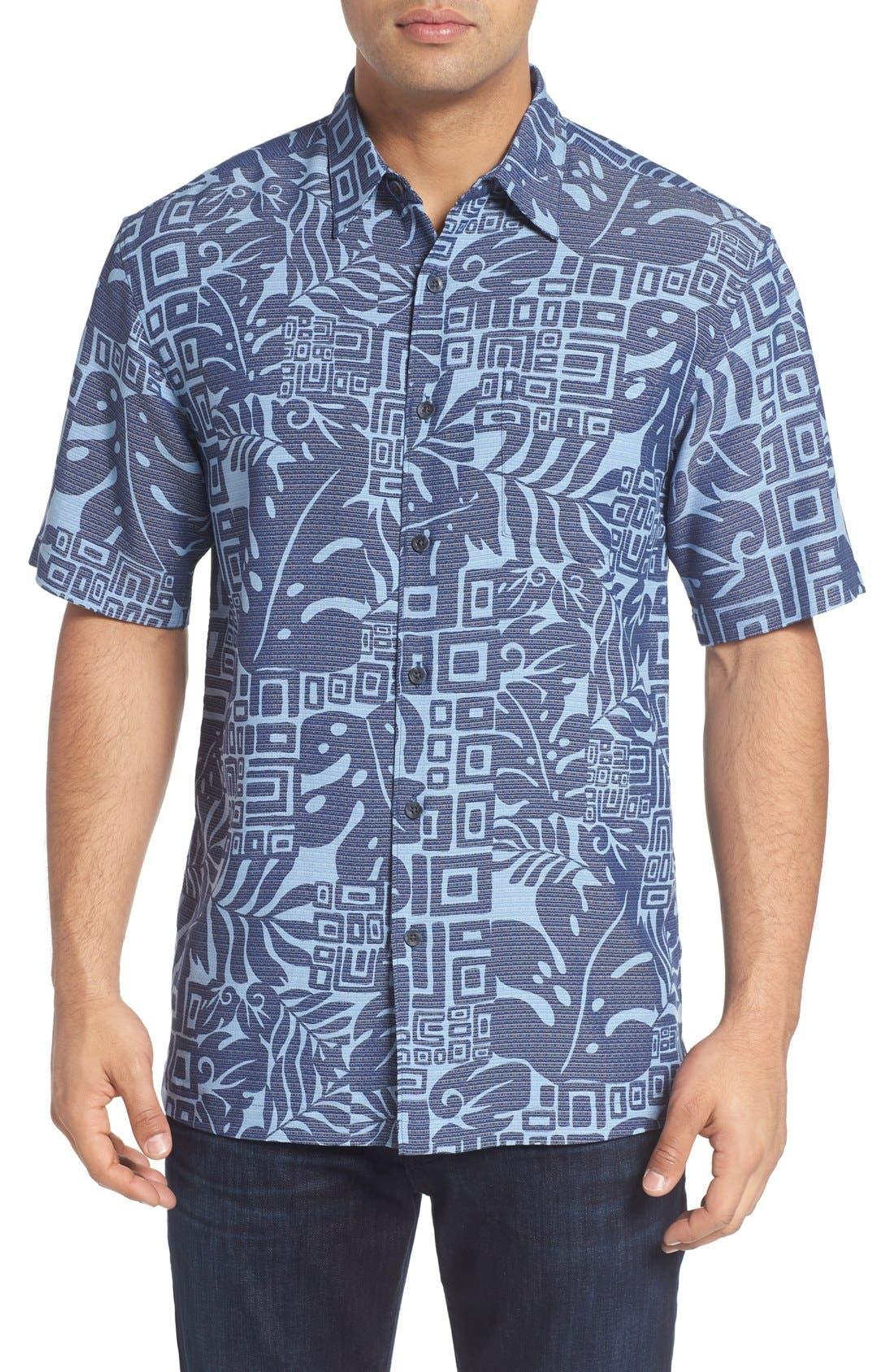 Kahala 'Tupai Island' Regular Fit Camp Shirt