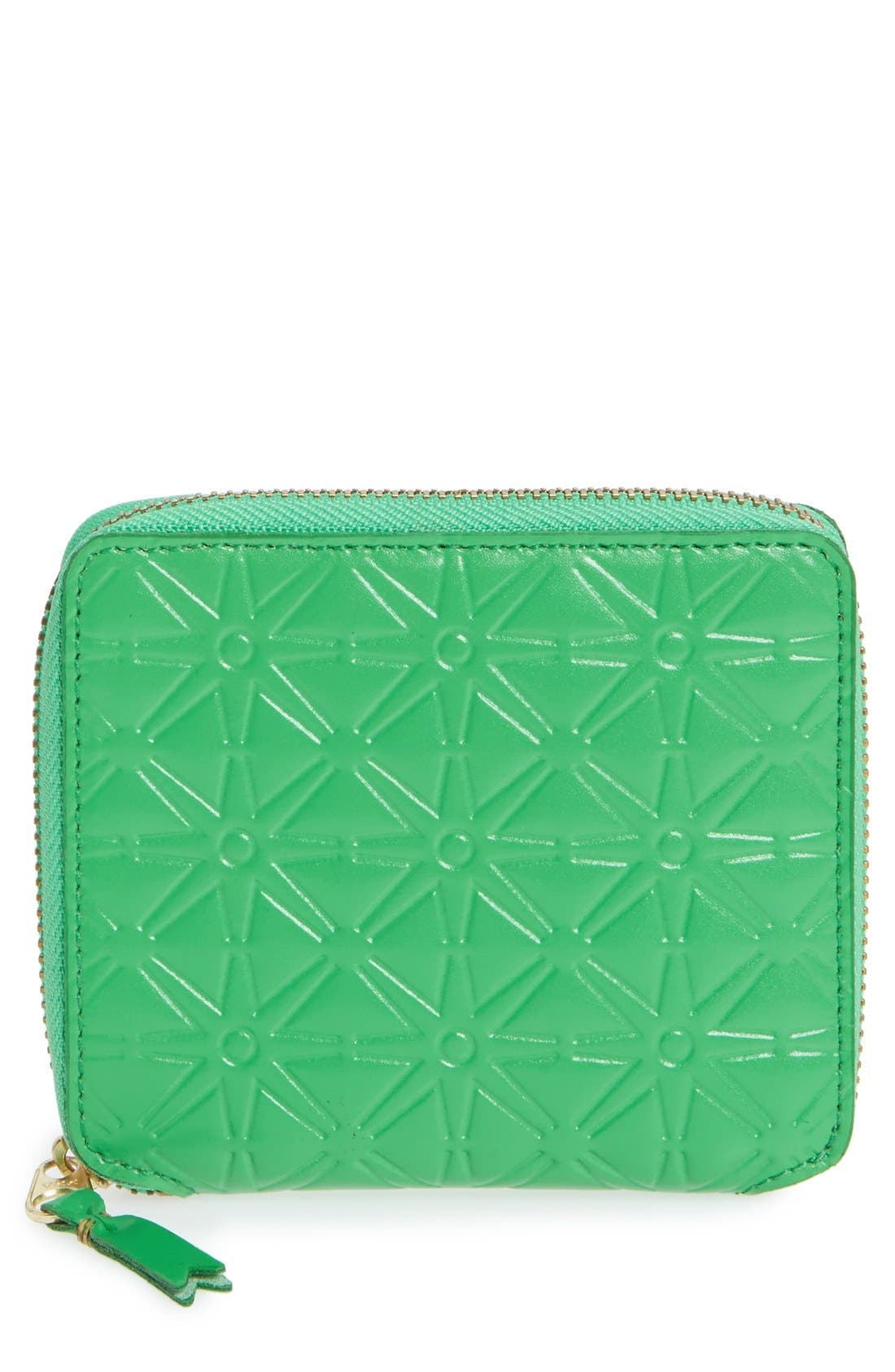 Main Image - Comme des Garçons Embossed French Wallet