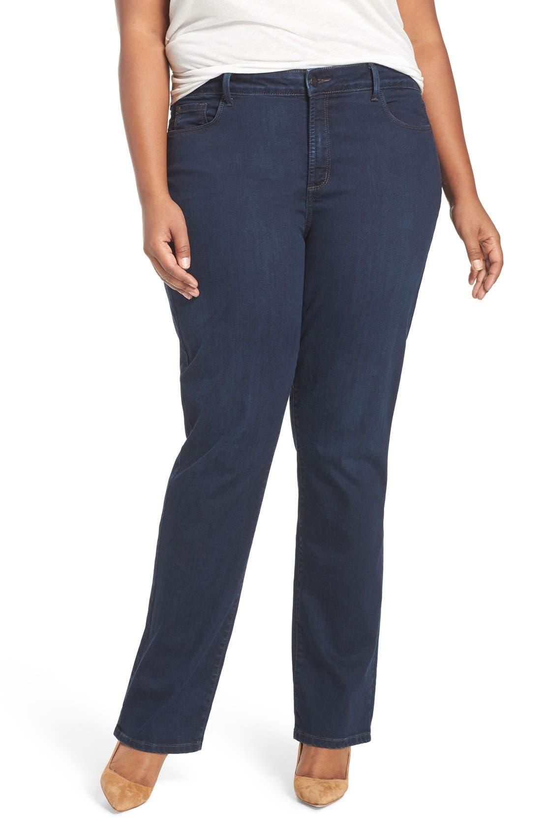NYDJ 'Marilyn' Stretch Straight Leg Jeans
