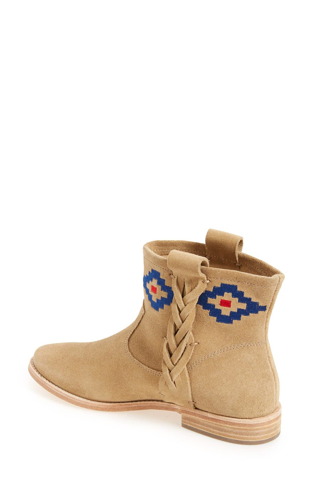 Alternate Image 2  - Soludos Embroidered Bootie (Women)