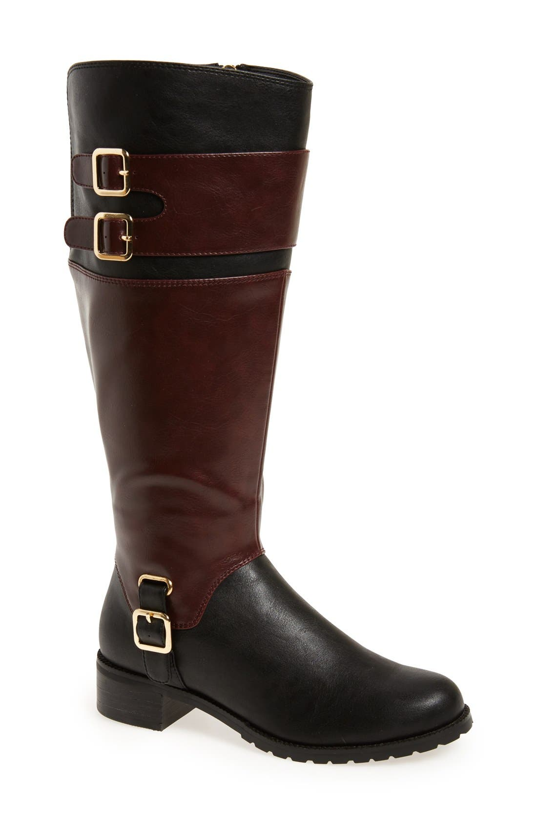 Alternate Image 1 Selected - Bella Vita 'Adriann II' Knee High Boot (Women) (Wide Calf)