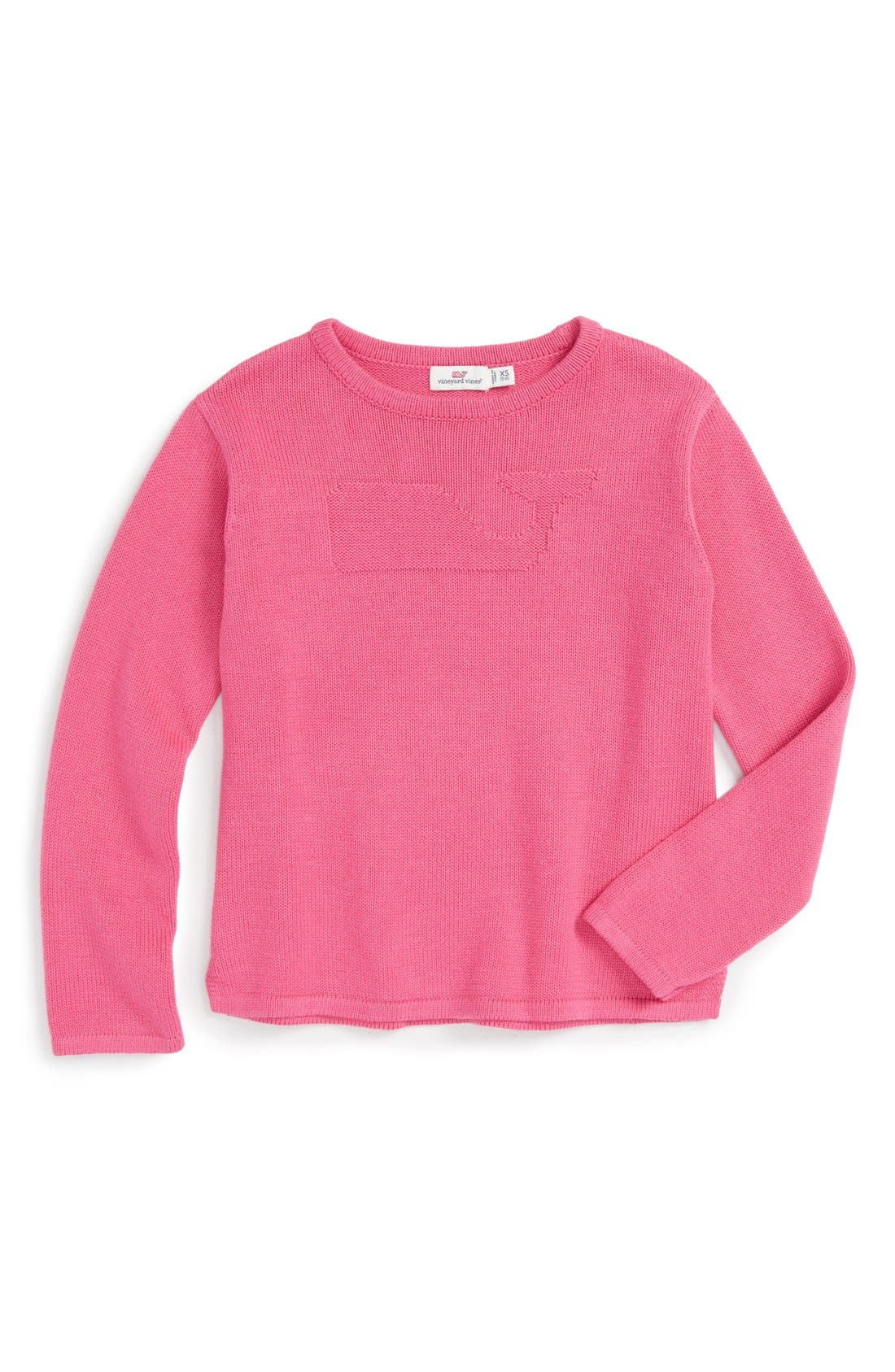 Vineyard Vines Whale Logo Knit Sweater (Little Girls & Big Girls)