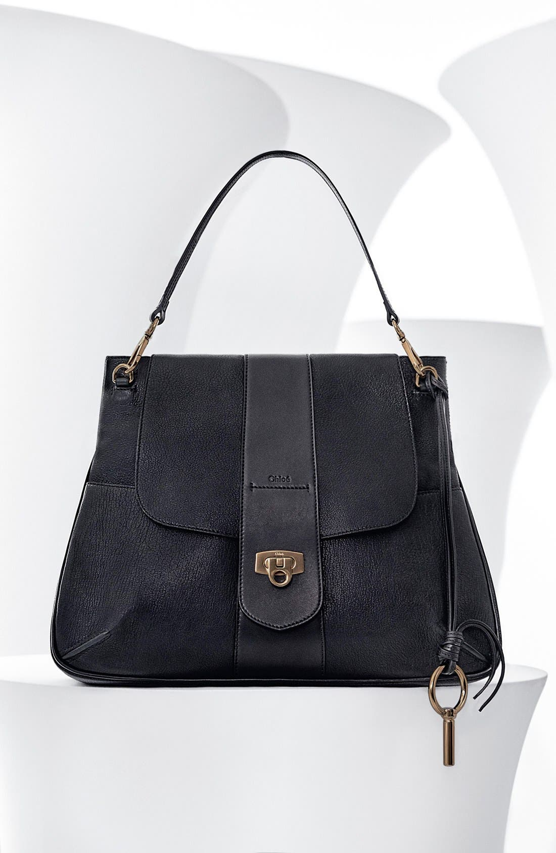 Alternate Image 5  - Chloé Medium Lexa Leather Shoulder Bag