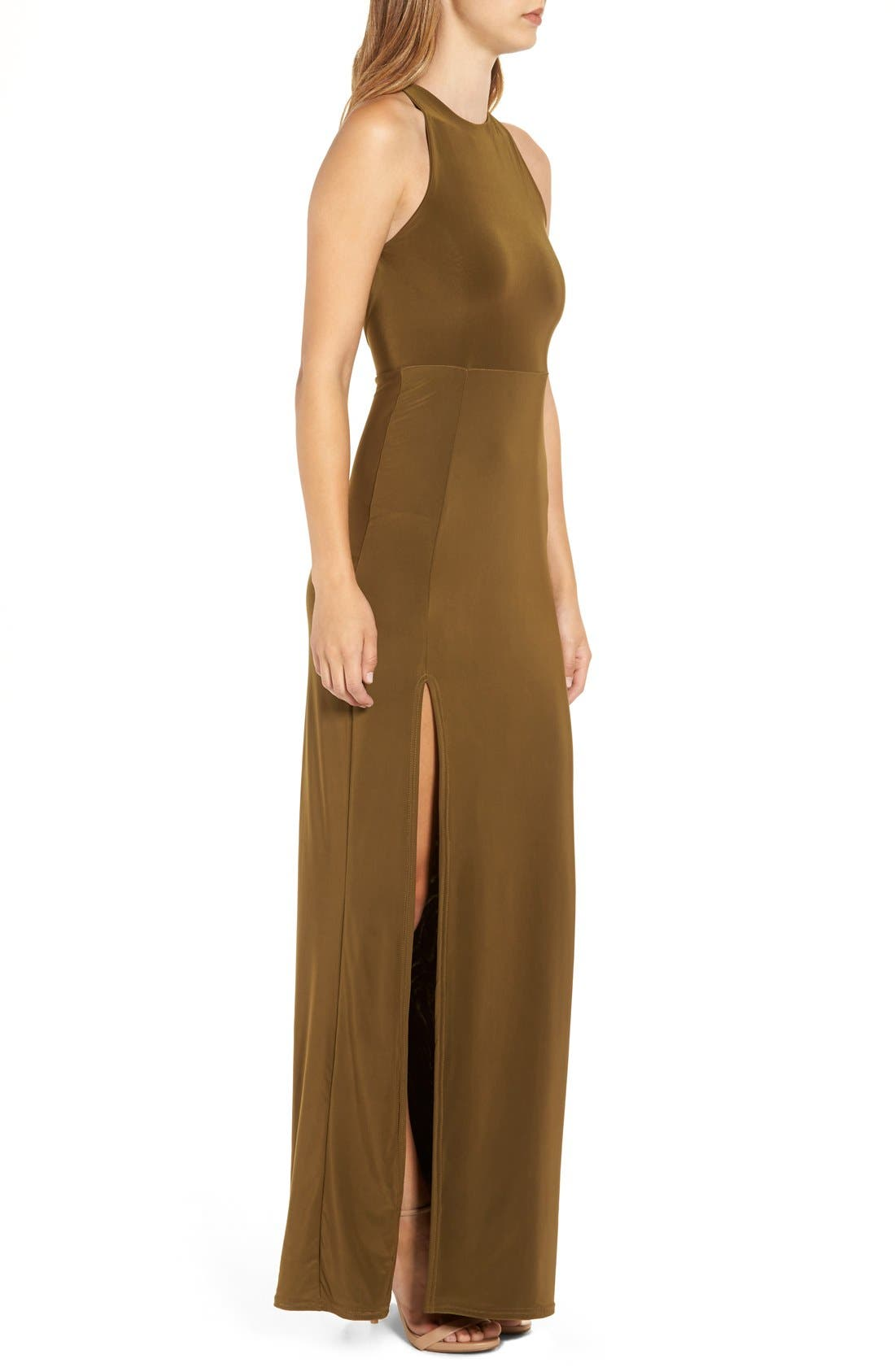 Alternate Image 3  - Missguided Strappy Back Maxi Dress