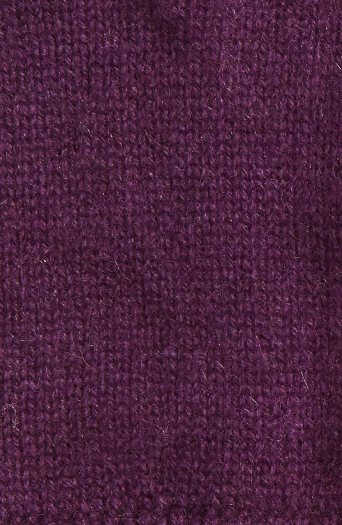 Alternate Image 2  - Halogen® Rib Knit Cashmere Gloves