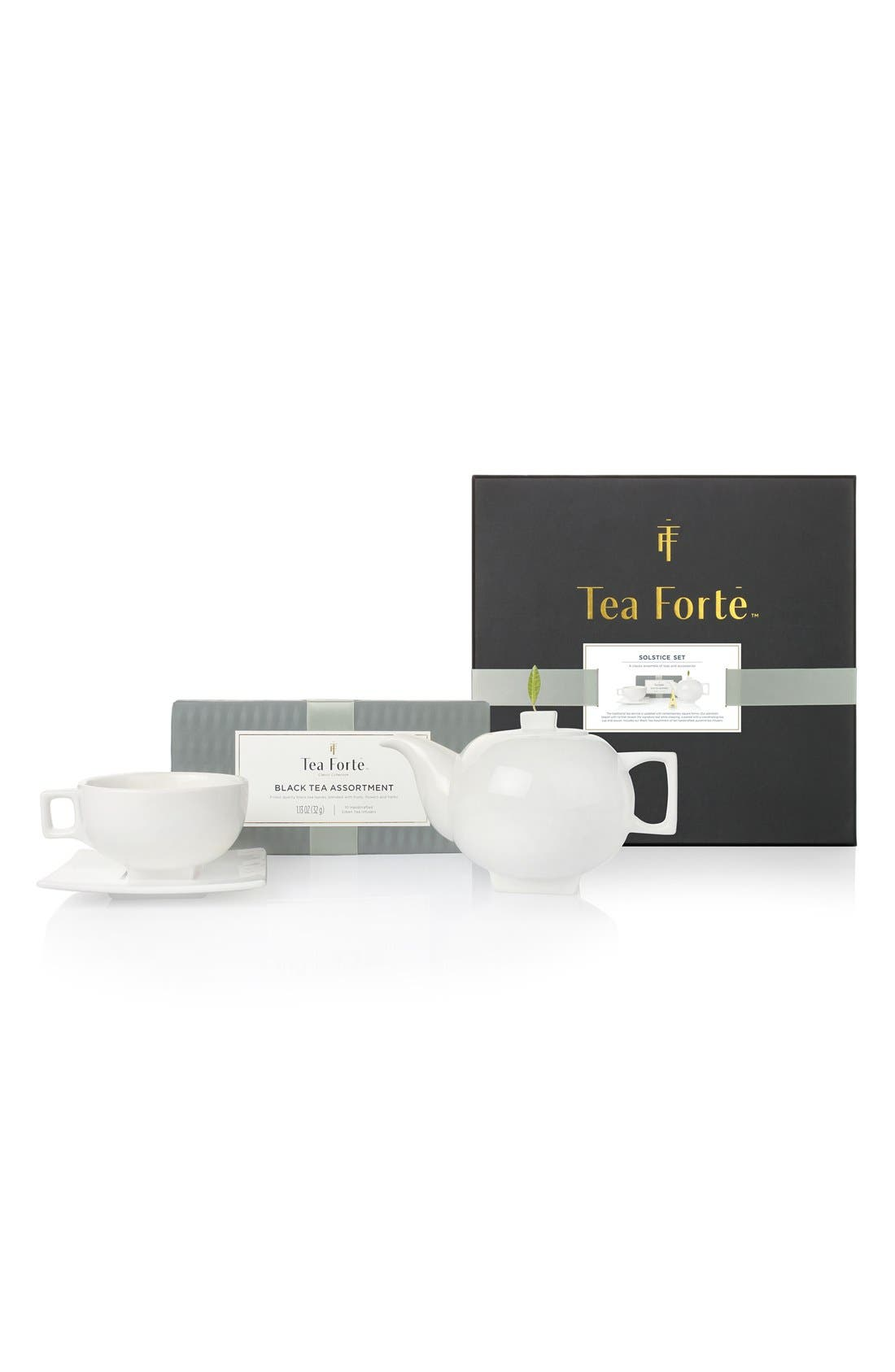 Tea Forté 'Solstice Ensemble' Black Tea Gift Set
