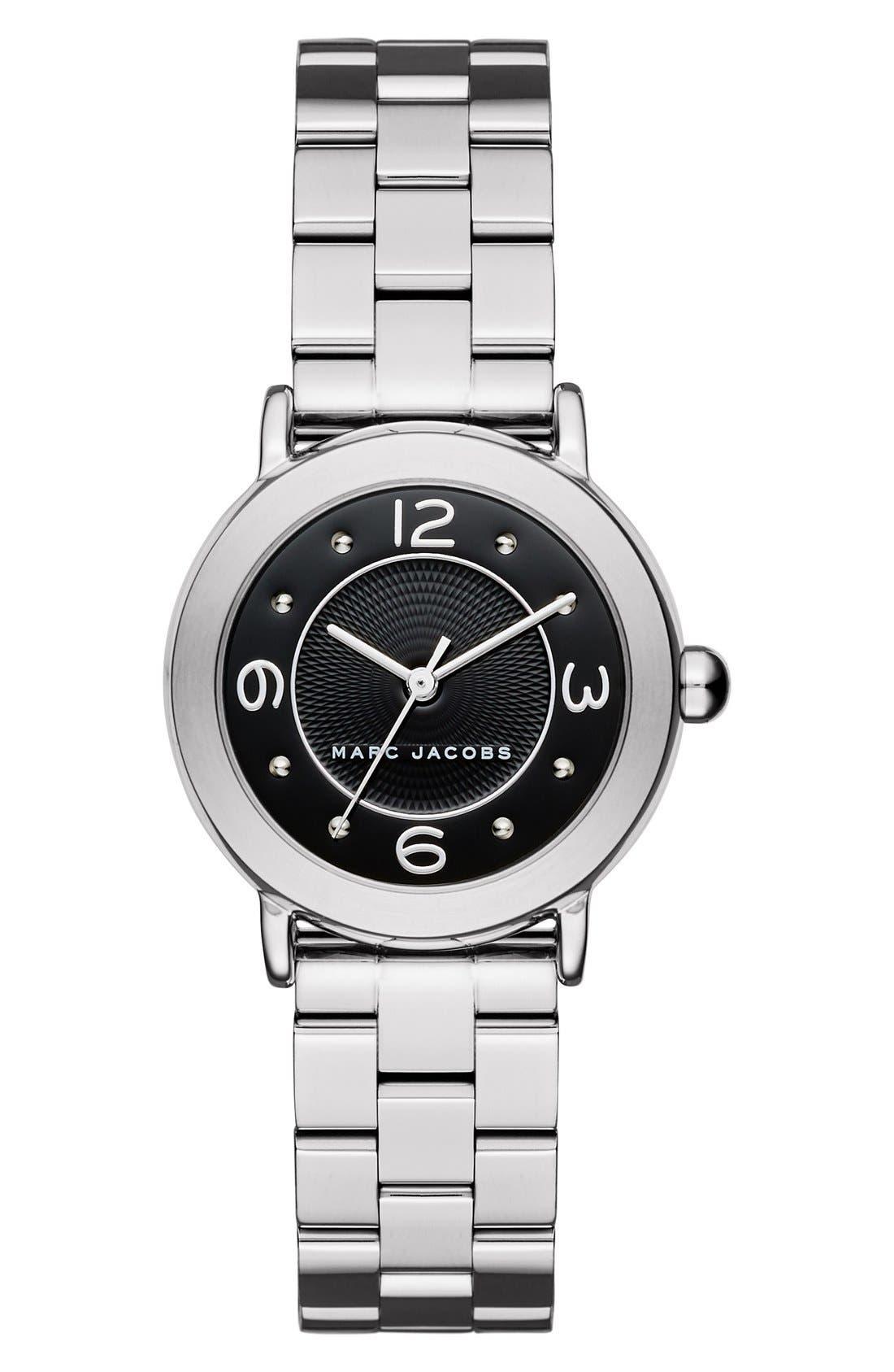 Alternate Image 1 Selected - MARC JACOBS 'Riley' Bracelet Watch, 28mm