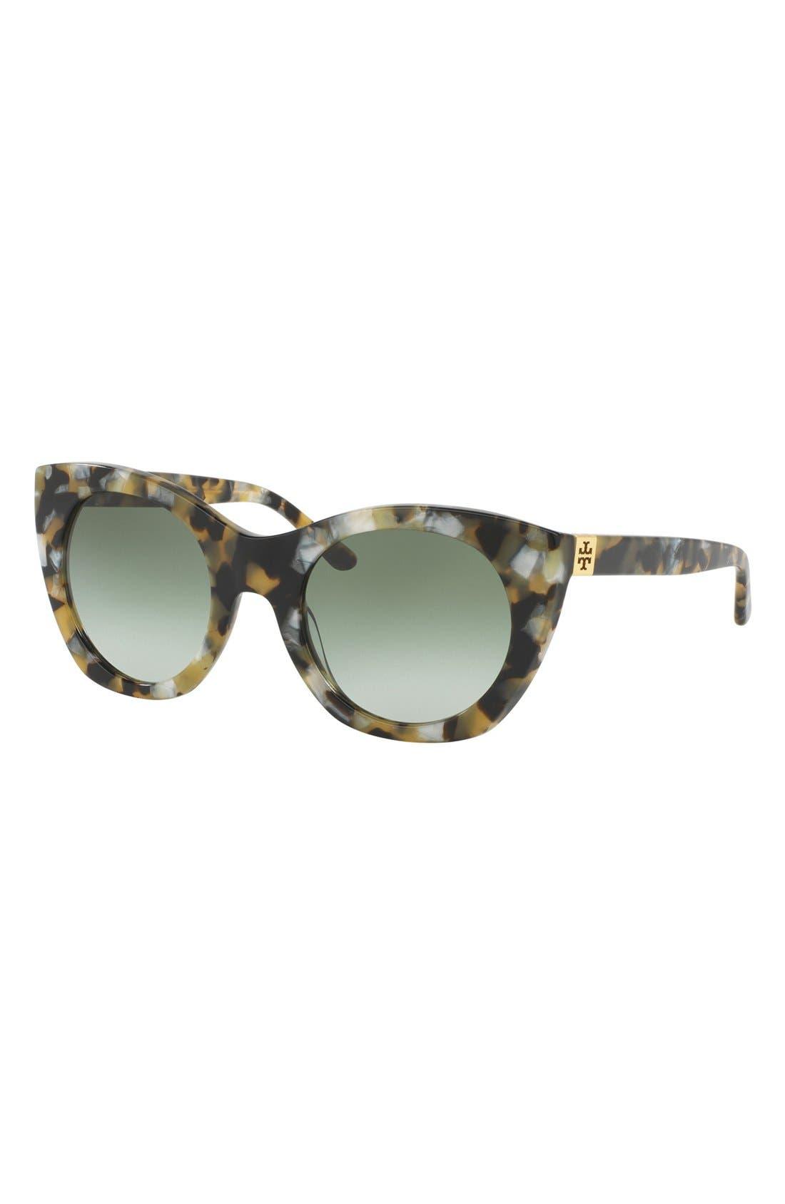 Alternate Image 2  - Tory Burch 52mm Cat Eye Sunglasses