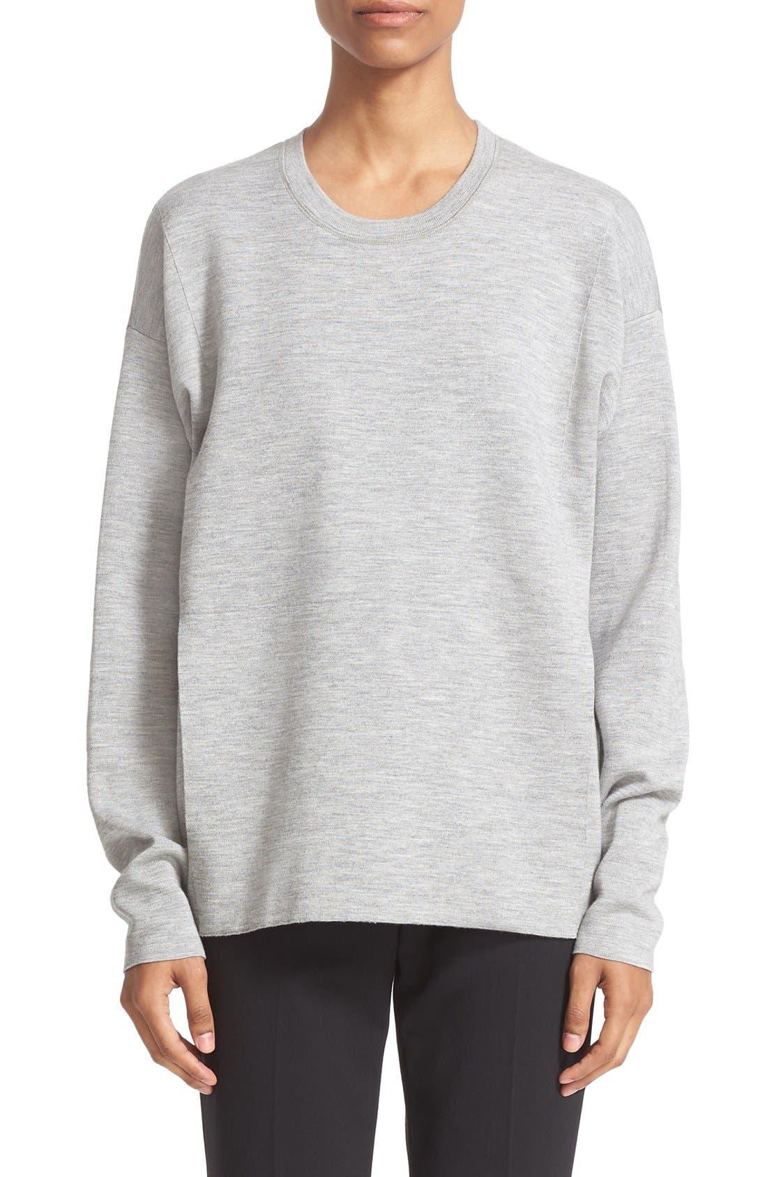 ALEXANDER WANG Oversize Knit Pullover