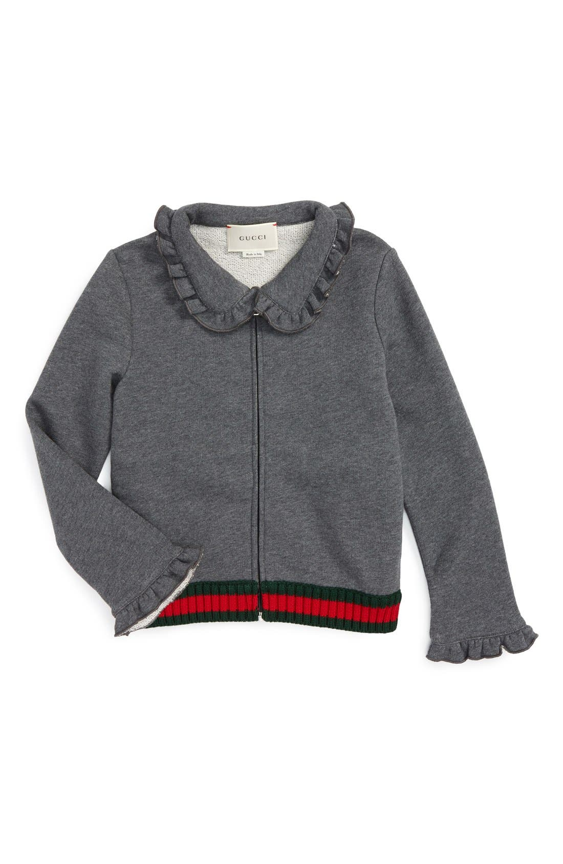 GUCCI KIDSWEAR Gucci Zip Sweatshirt