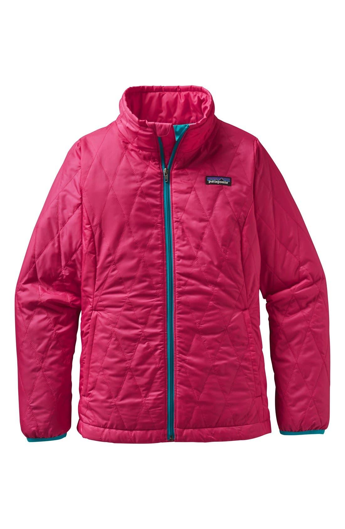 Alternate Image 1 Selected - Patagonia 'Nano Puff' Wind Resistant & Water Repellent Jacket (Little Girls & Big Girls)