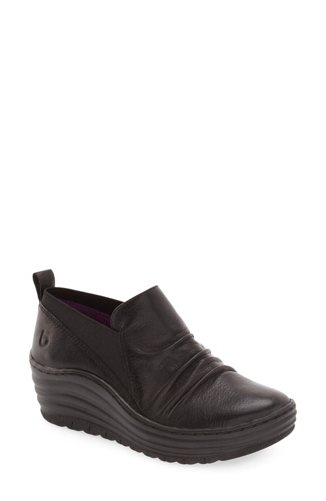 bionica 'Gallant' Leather Bootie (Women)