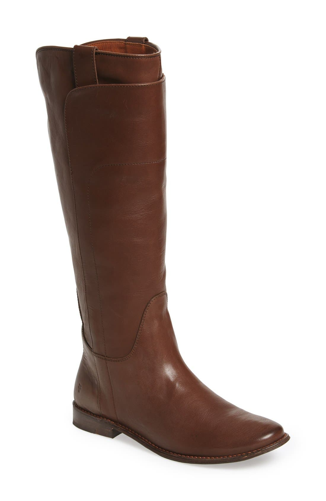 Alternate Image 1 Selected - Frye 'Paige' Tall Riding Boot (Women) (Wide Calf)