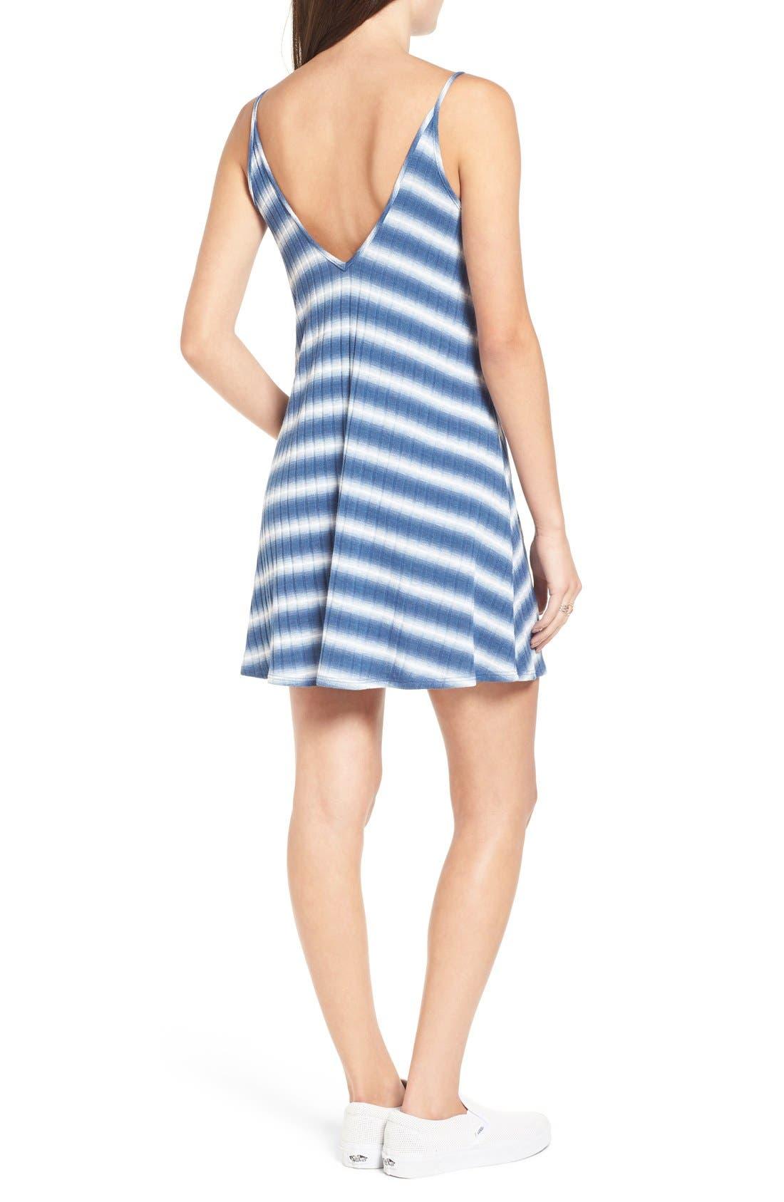Alternate Image 2  - Soprano Stripe Swing Dress