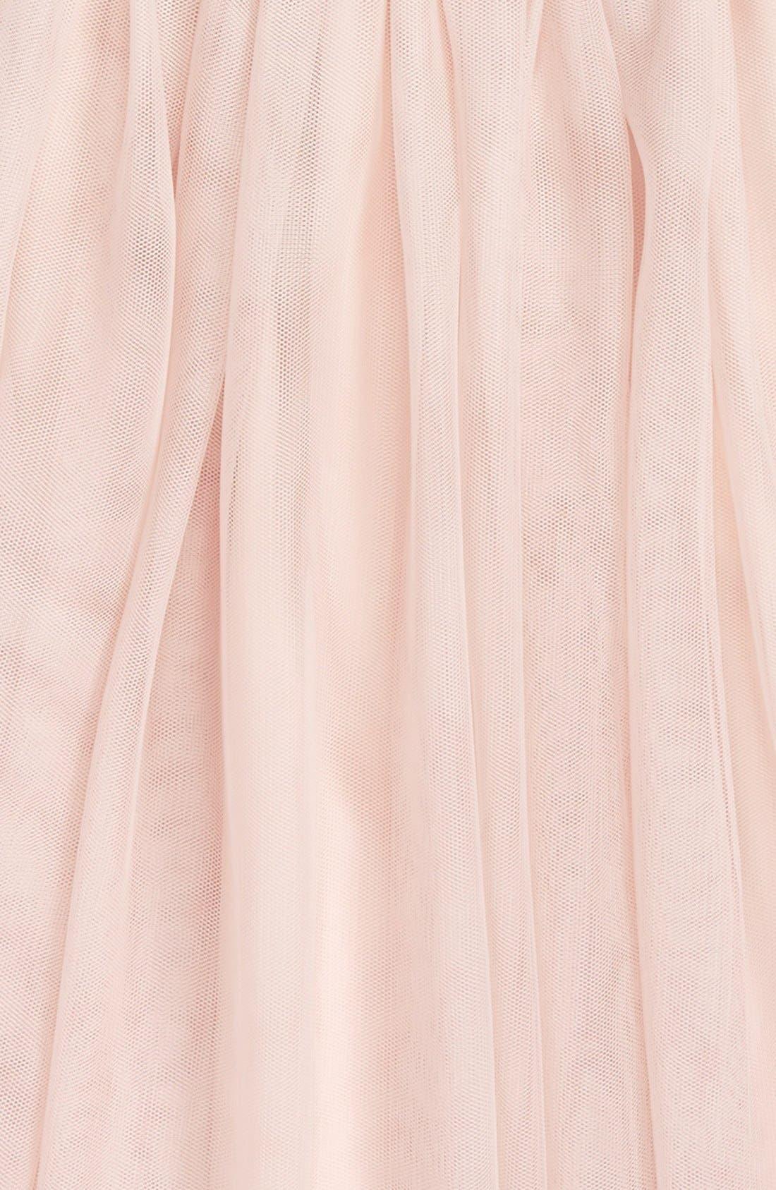 Alternate Image 2  - Zunie Sequin 'Meet & Greet' Top & Tulle Skirt Set (Big Girls)