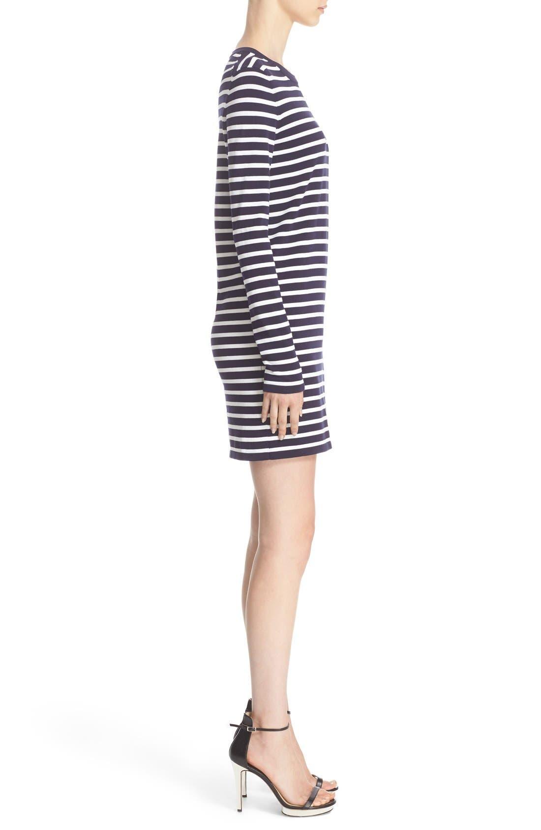 Alternate Image 5  - Michael Kors Stripe T-Shirt Dress