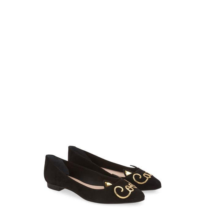 Image result for kate spade new york Women's Elektra Pointed Toe Flat