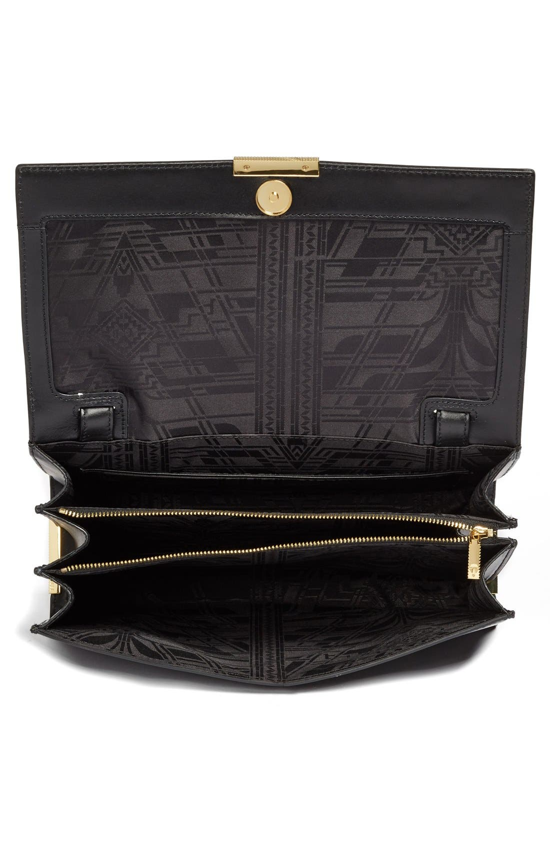 Alternate Image 4  - Ted Baker London 'Lowri' Croc Embossed Leather Shoulder Bag