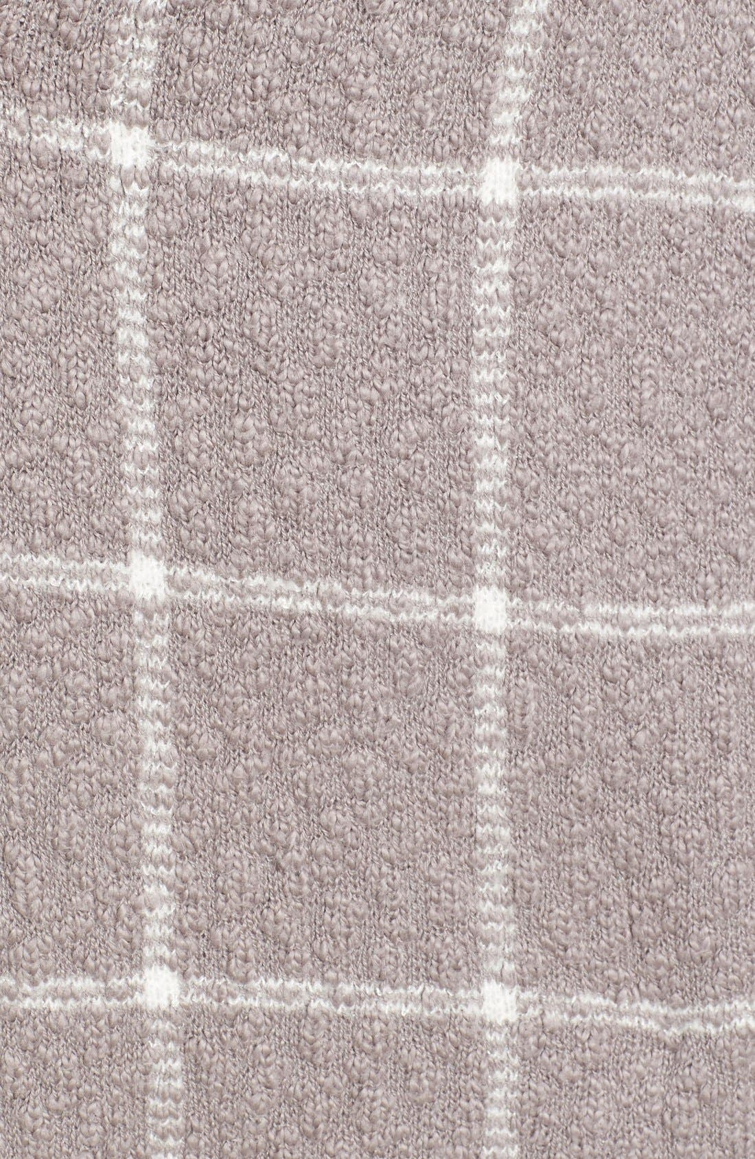 Alternate Image 5  - BP. Oversize Windowpane Cardigan