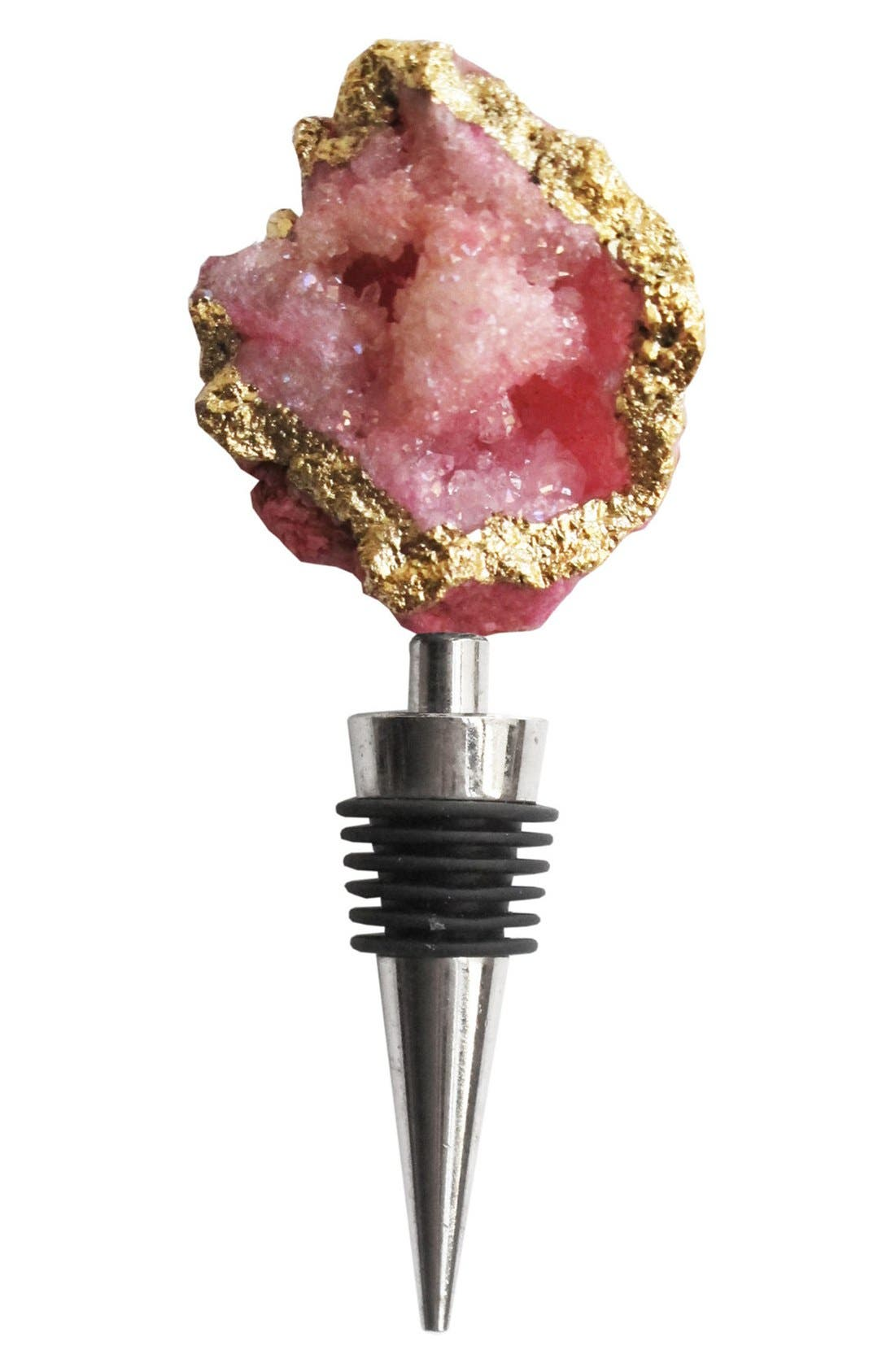 Alternate Image 1 Selected - American Atelier Agate Wine Stopper