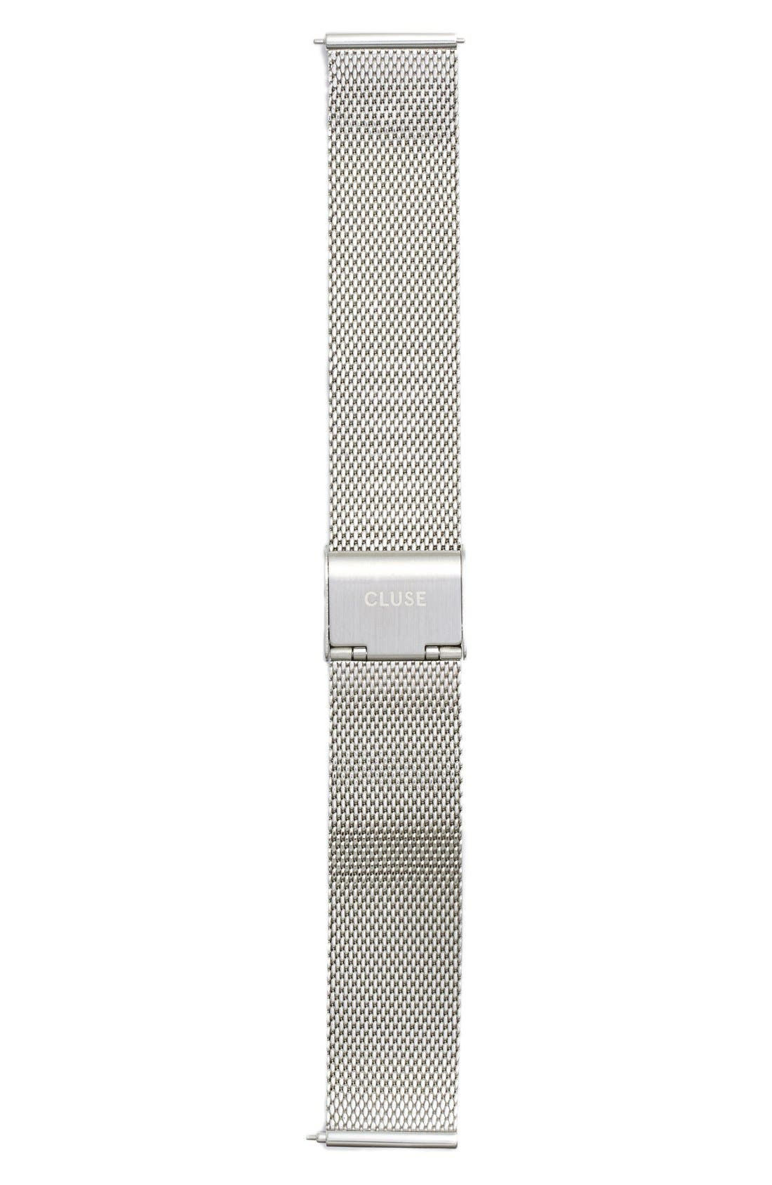 CLUSE 'La Bohème' 18mm Mesh Watch Strap