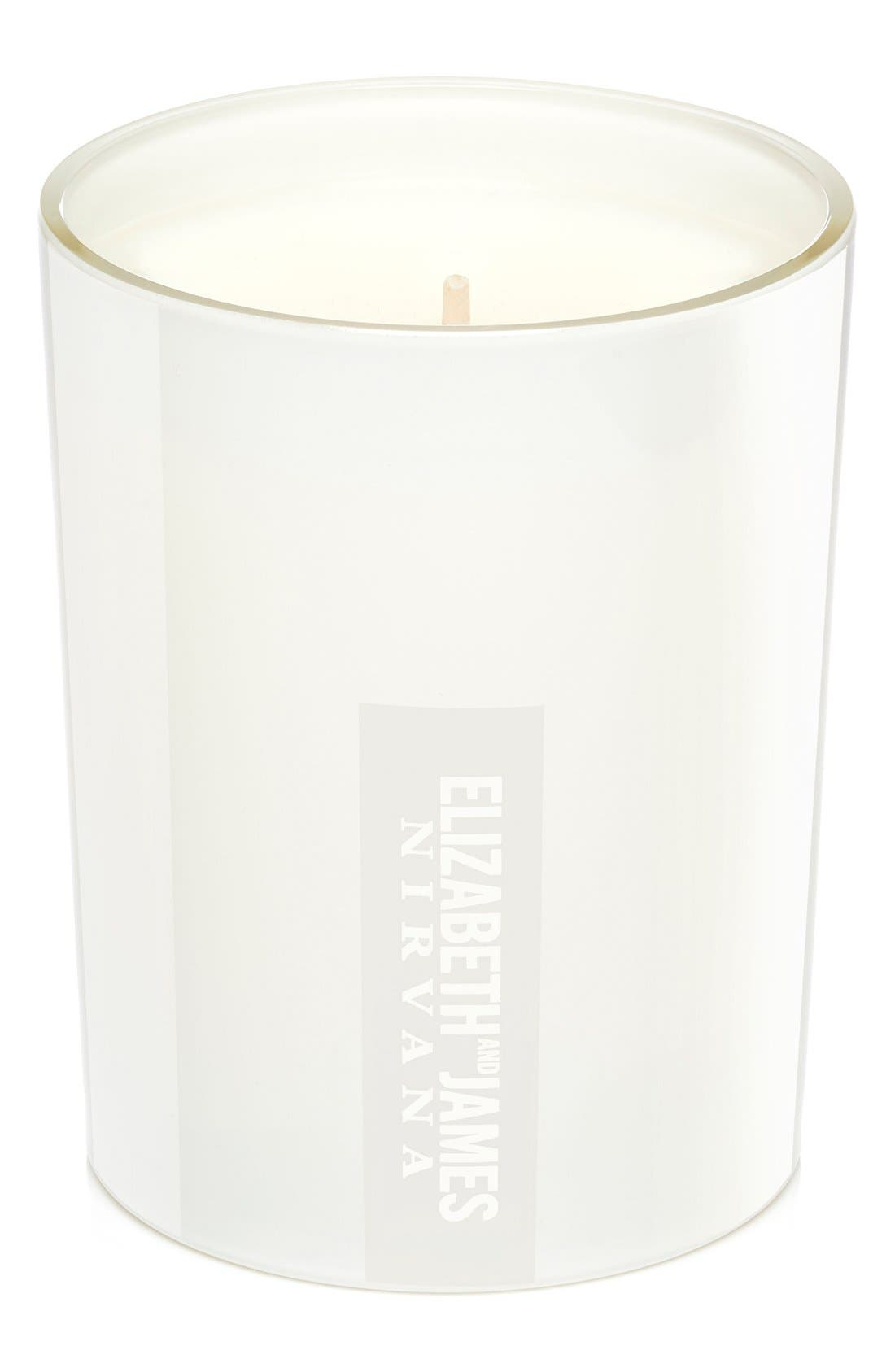 ELIZABETH AND JAMES NIRVANA White Scented Candle