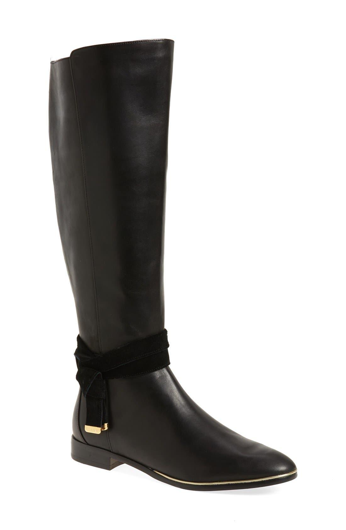 Main Image - Ted Baker London 'Enjaku' Tall Boot (Women)