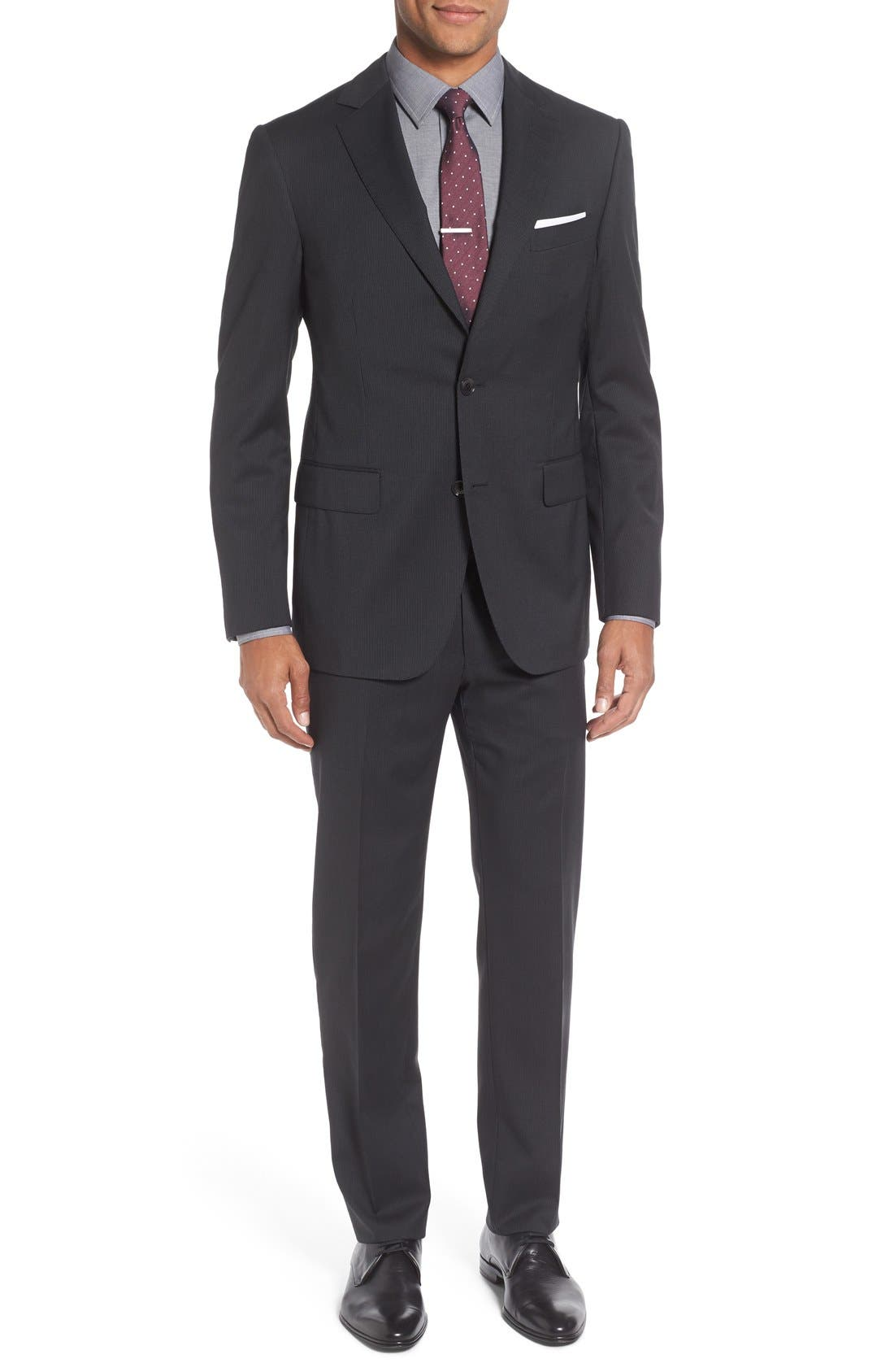 Alternate Image 1 Selected - Pal Zileri Classic Fit Stripe Wool Suit