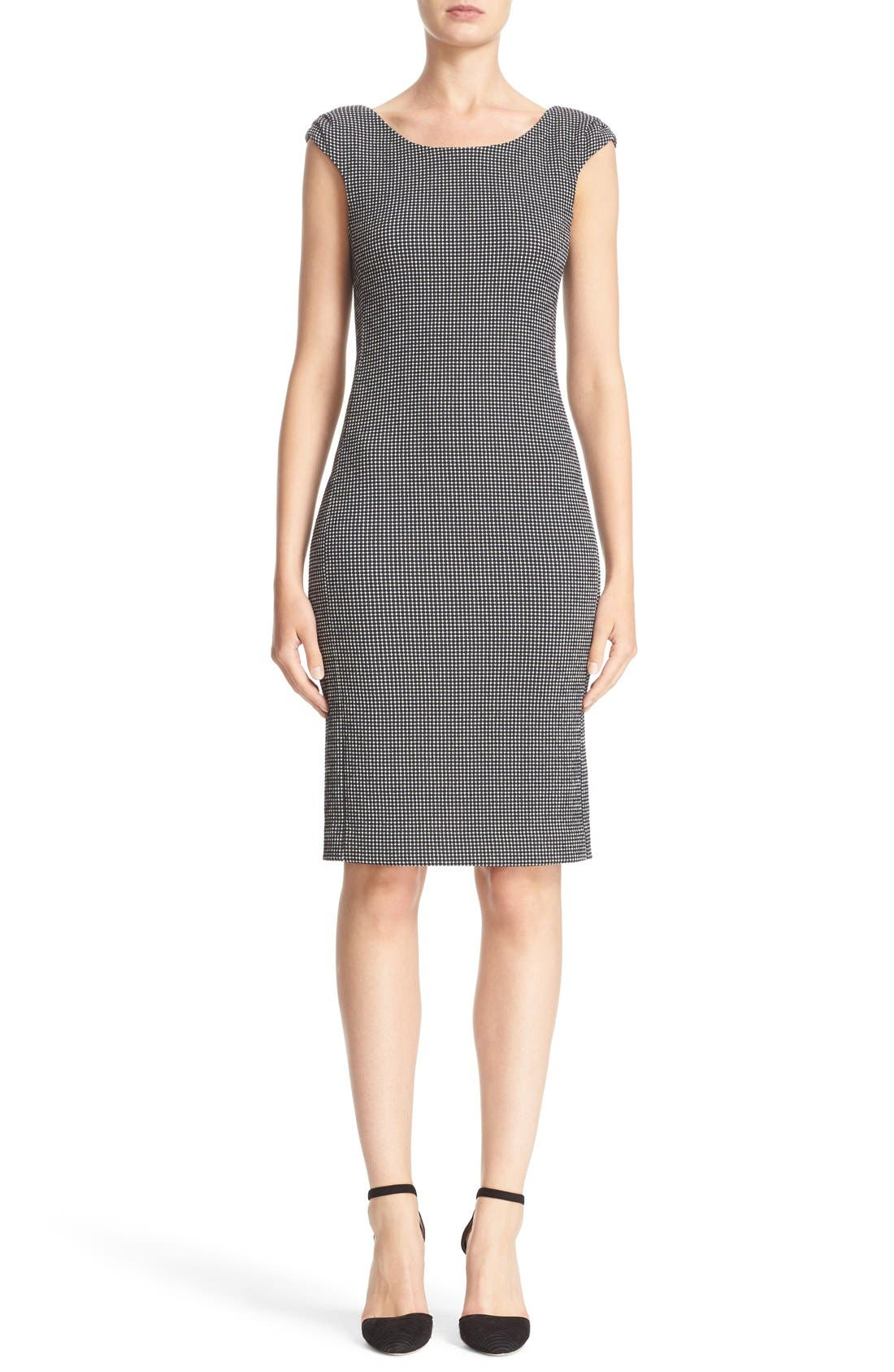 ARMANI COLLEZIONI Stretch Sheath Dress