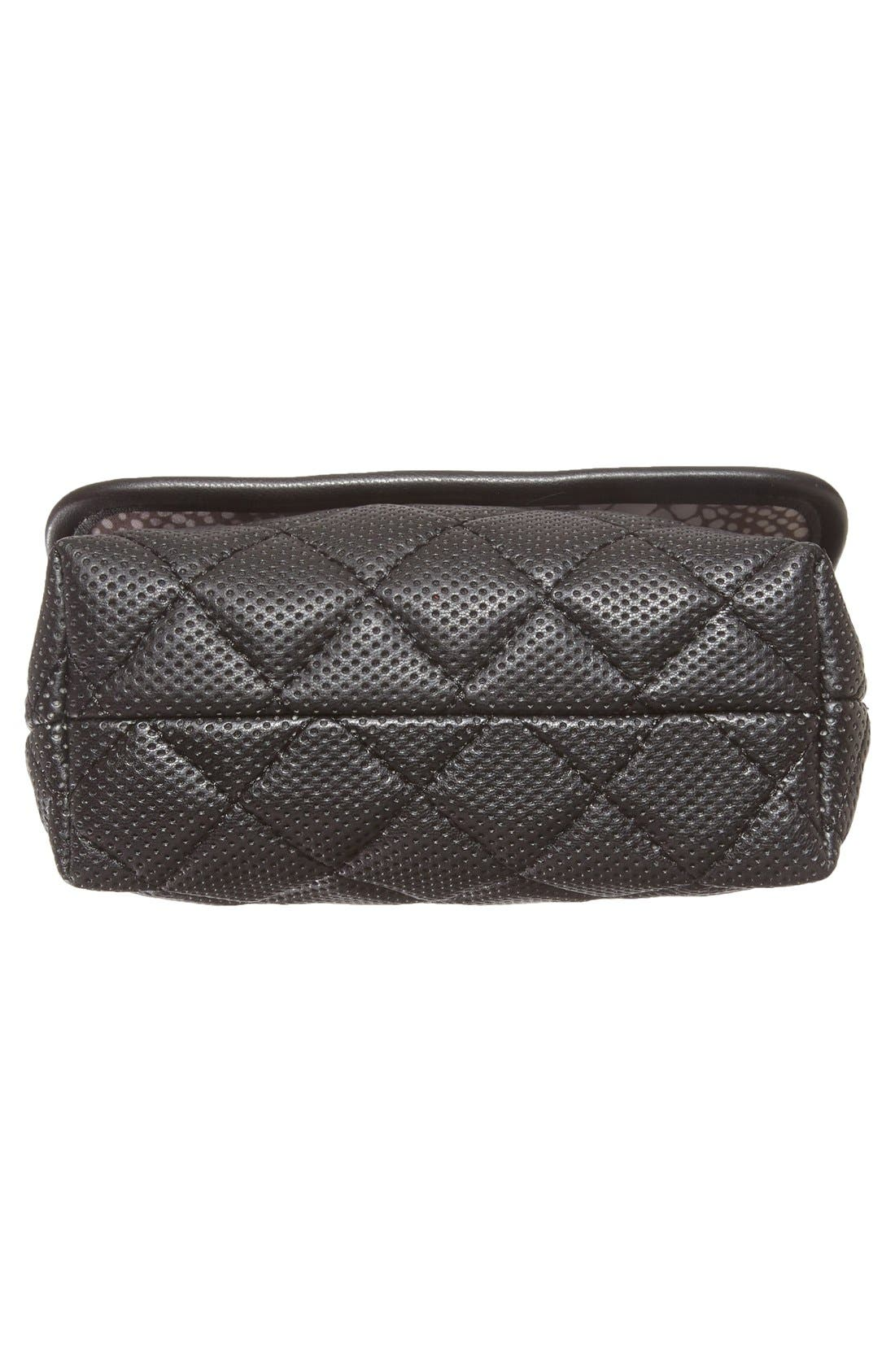Alternate Image 5  - Steve Madden 'B Clarre' Perforated & Quilted Faux Leather Crossbody Bag