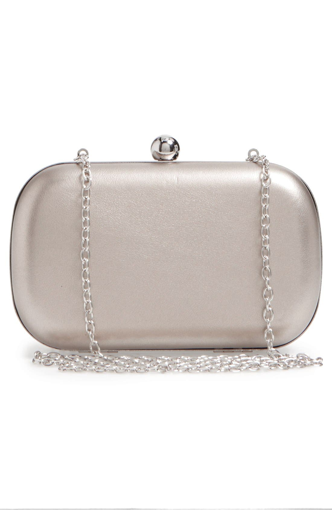 Alternate Image 3  - La Regale Floral Metallic Embroidered Clutch