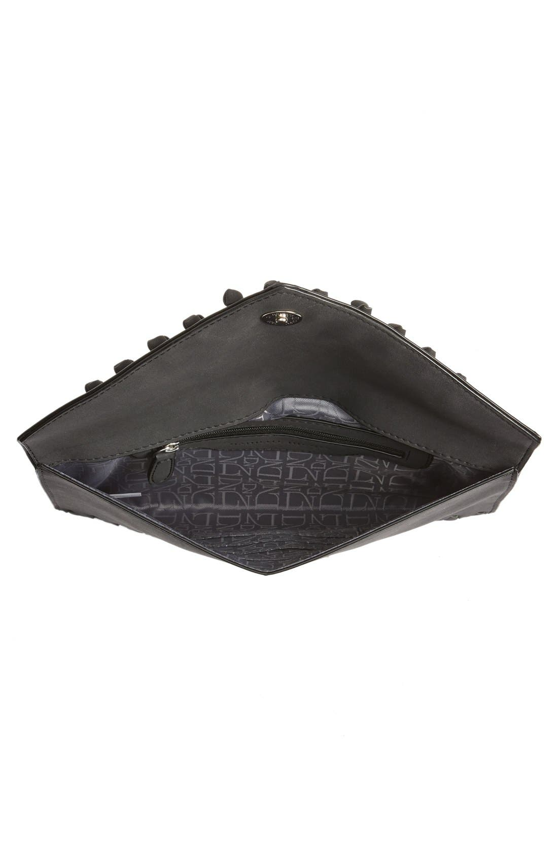 Alternate Image 4  - Danielle Nicole 'Tina' Faux Leather Envelope Clutch
