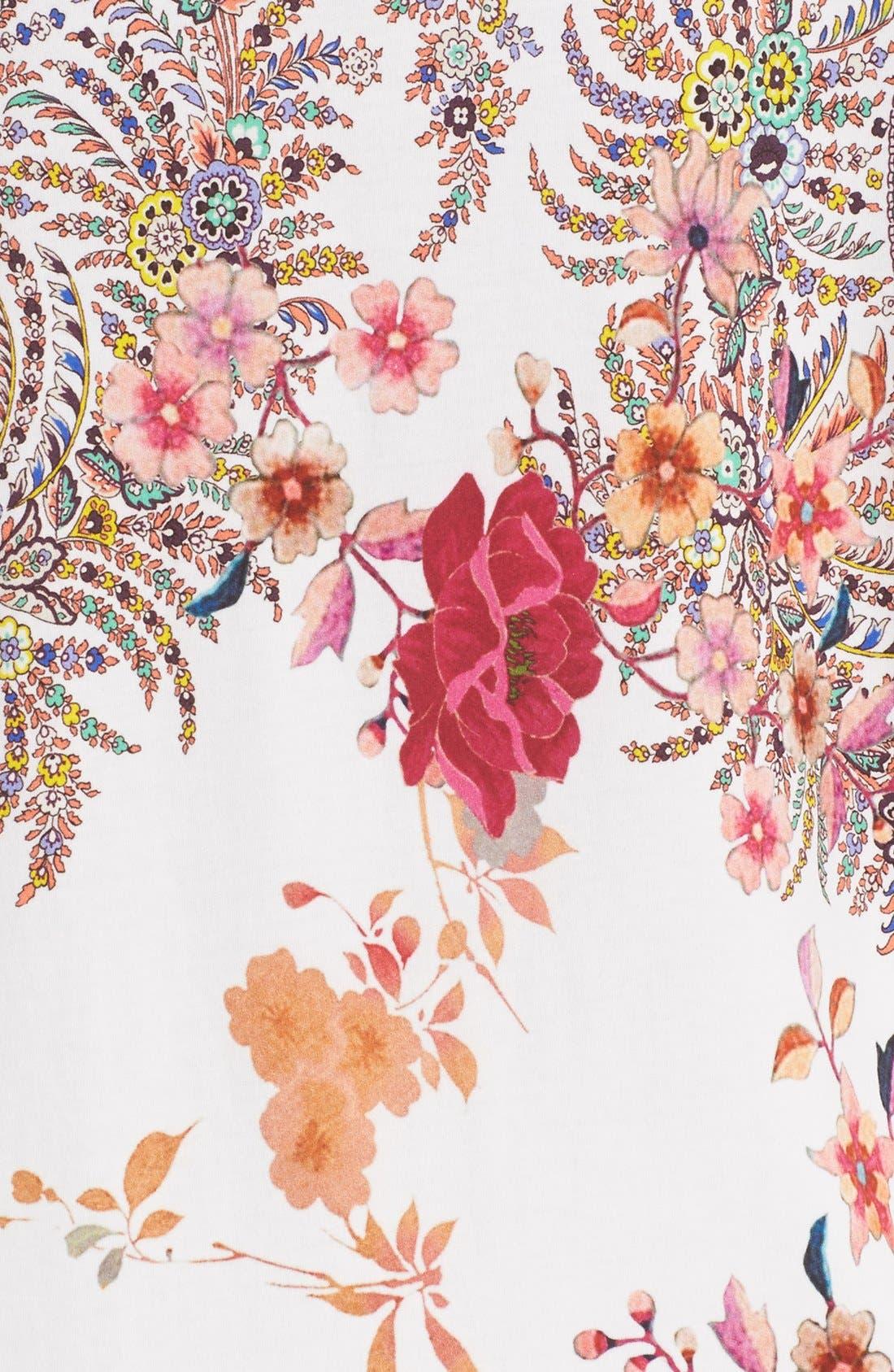Alternate Image 3  - Etro Floral & Paisley Print Cotton Tee