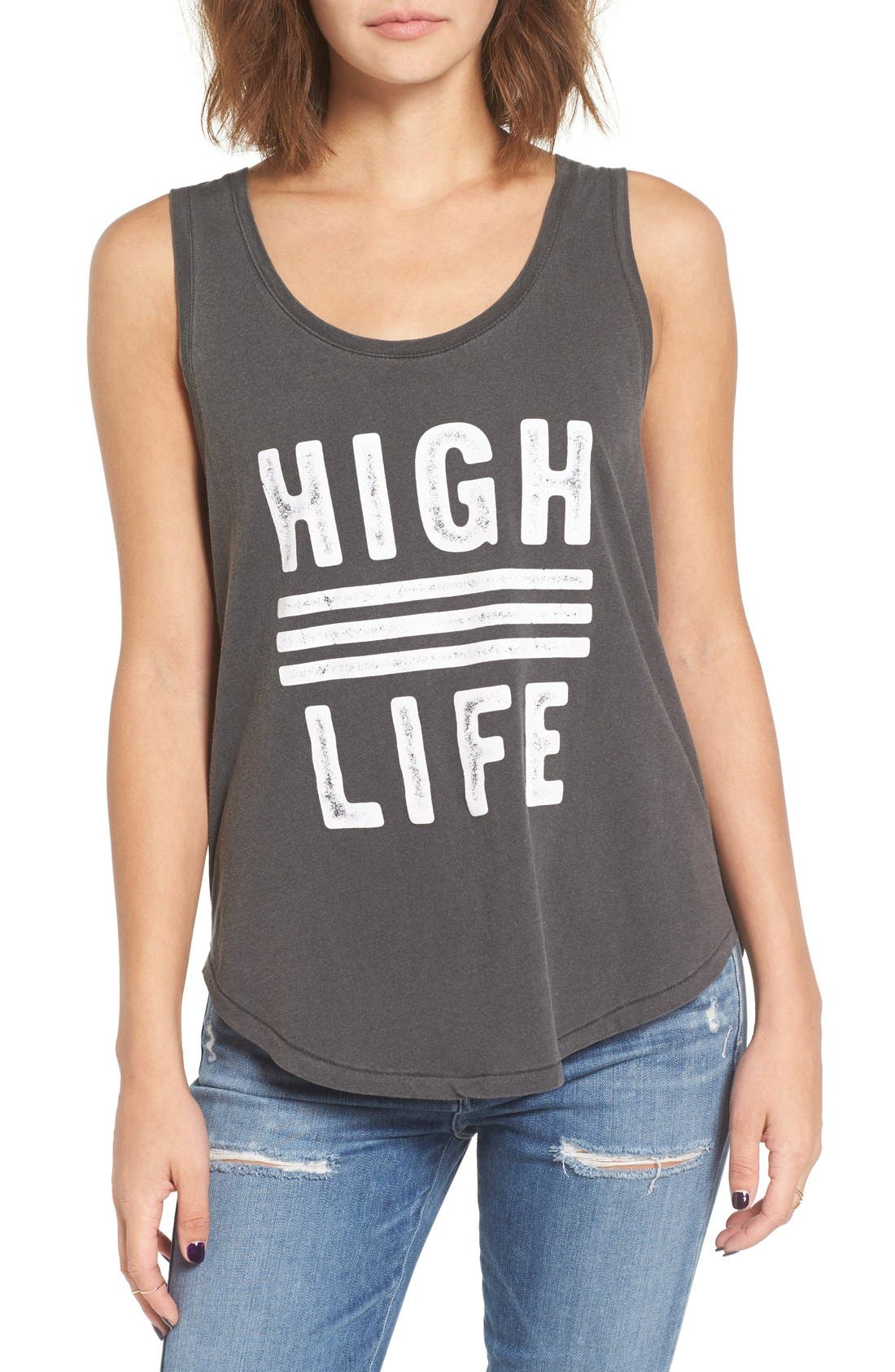 Main Image - Amuse Society 'Poolside' Graphic Tank